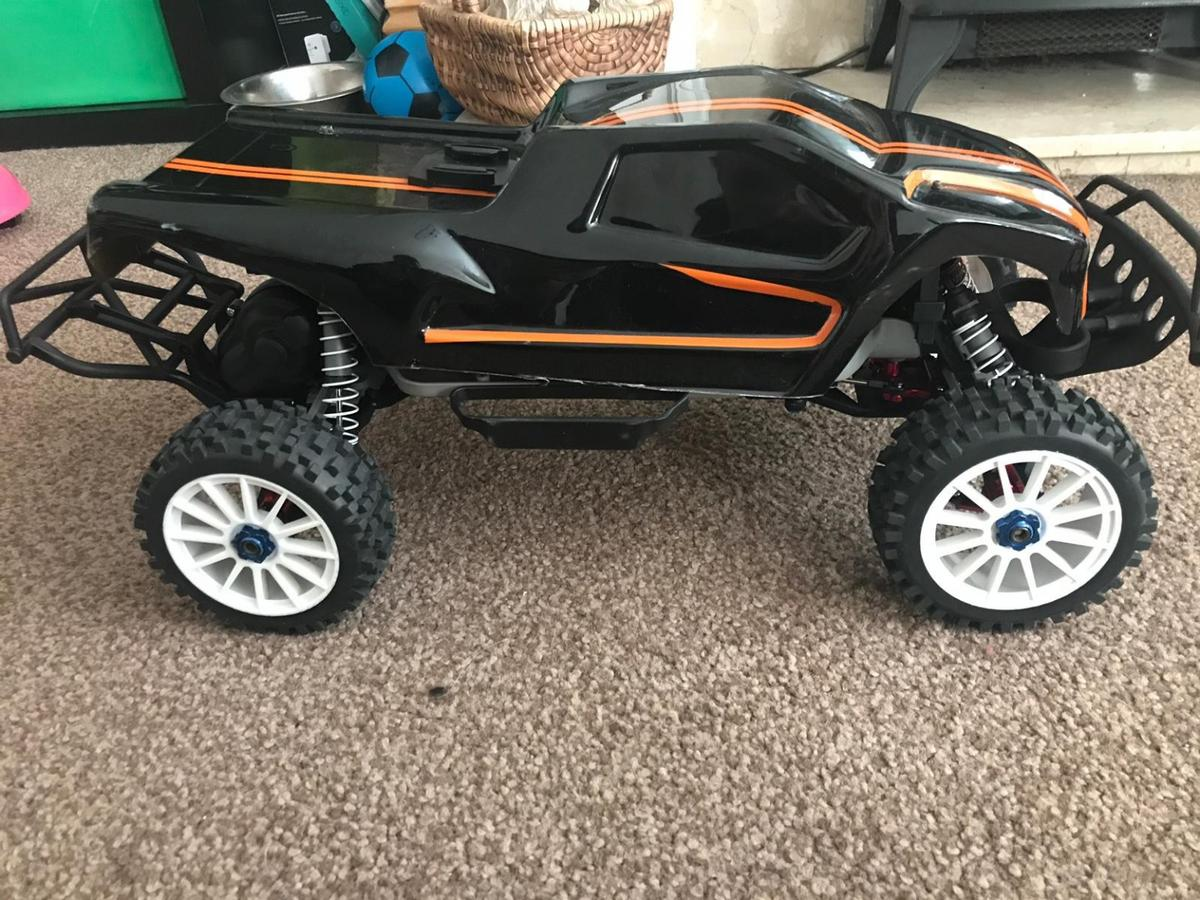 rc traxxas slash 2wd brushless rtr swap sale in NG17