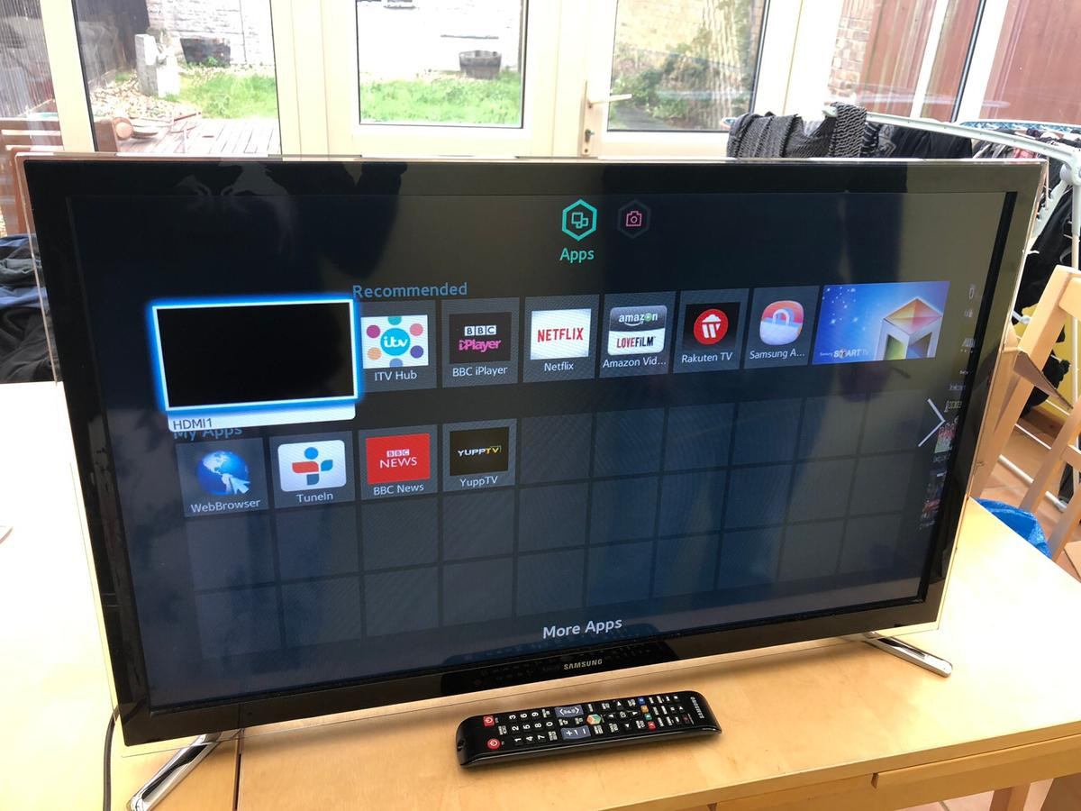 Samsung 32-inch smart TV HD ready