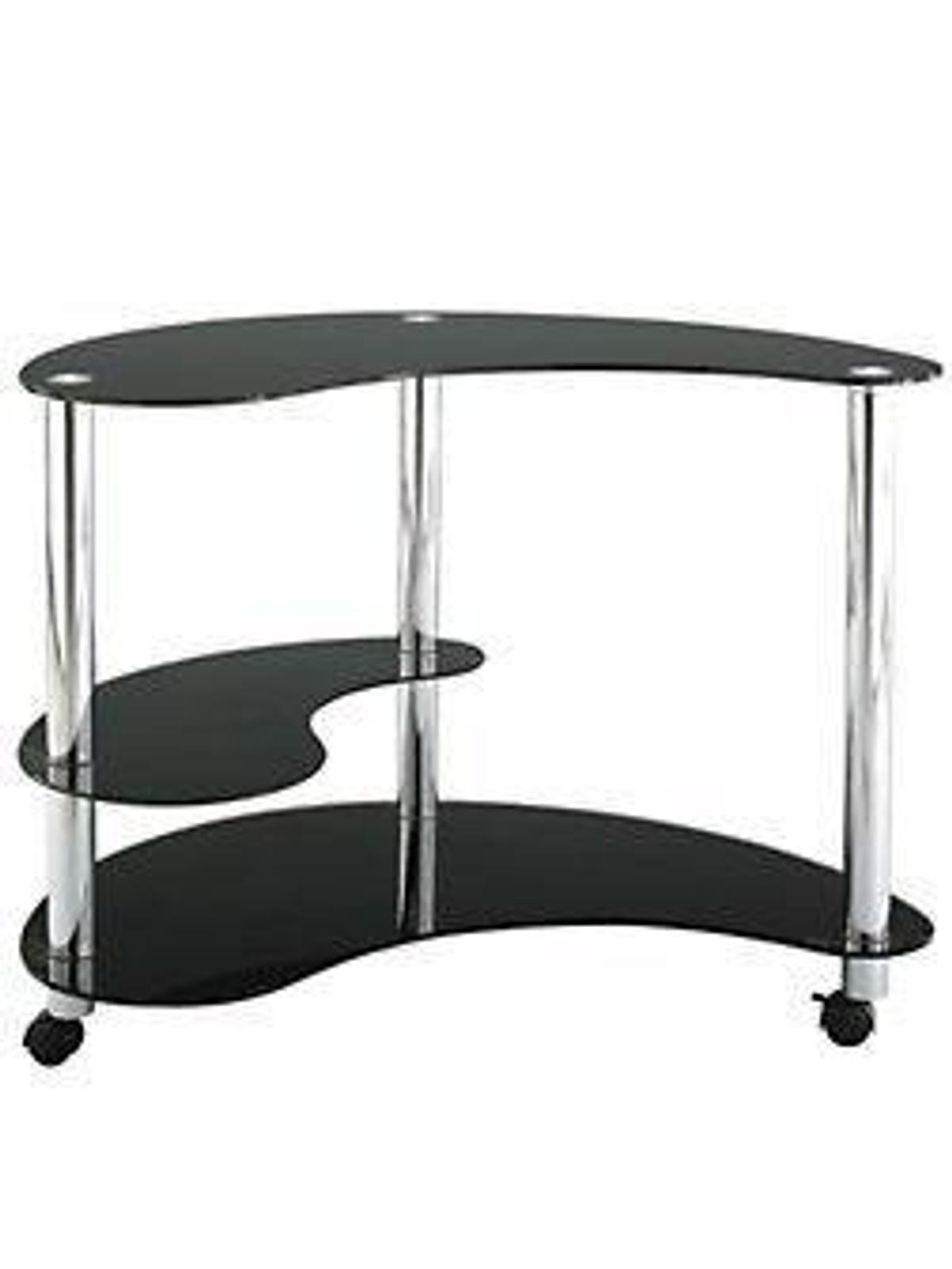 Kidney Shaped Glass Computer Desk In M18 Manchester For 40 00 For Sale Shpock