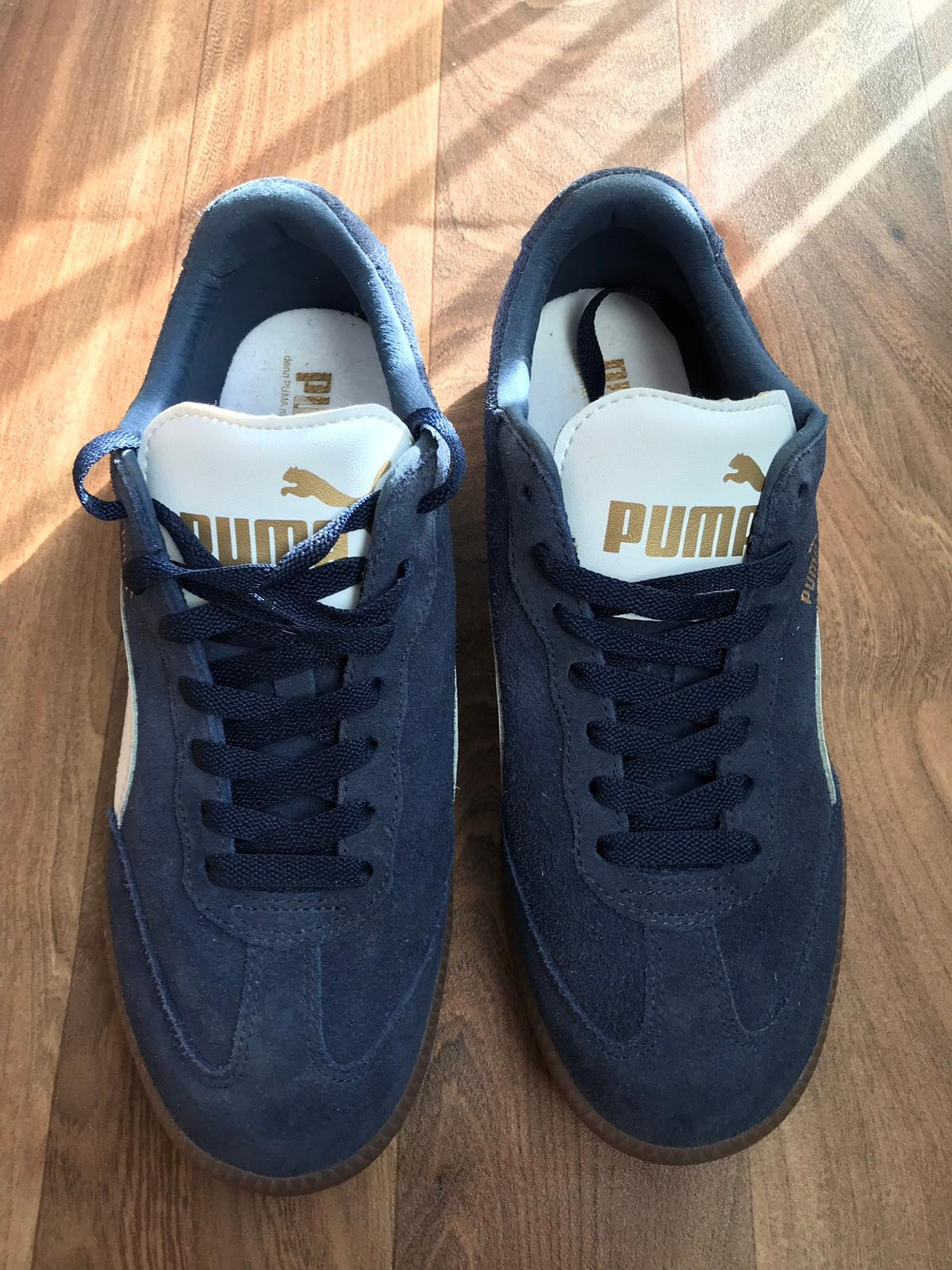 newest aef33 3613e PUMA LIGA SUEDE TRAINERS NAVY/WHITE in Ketley for £20.00 for ...