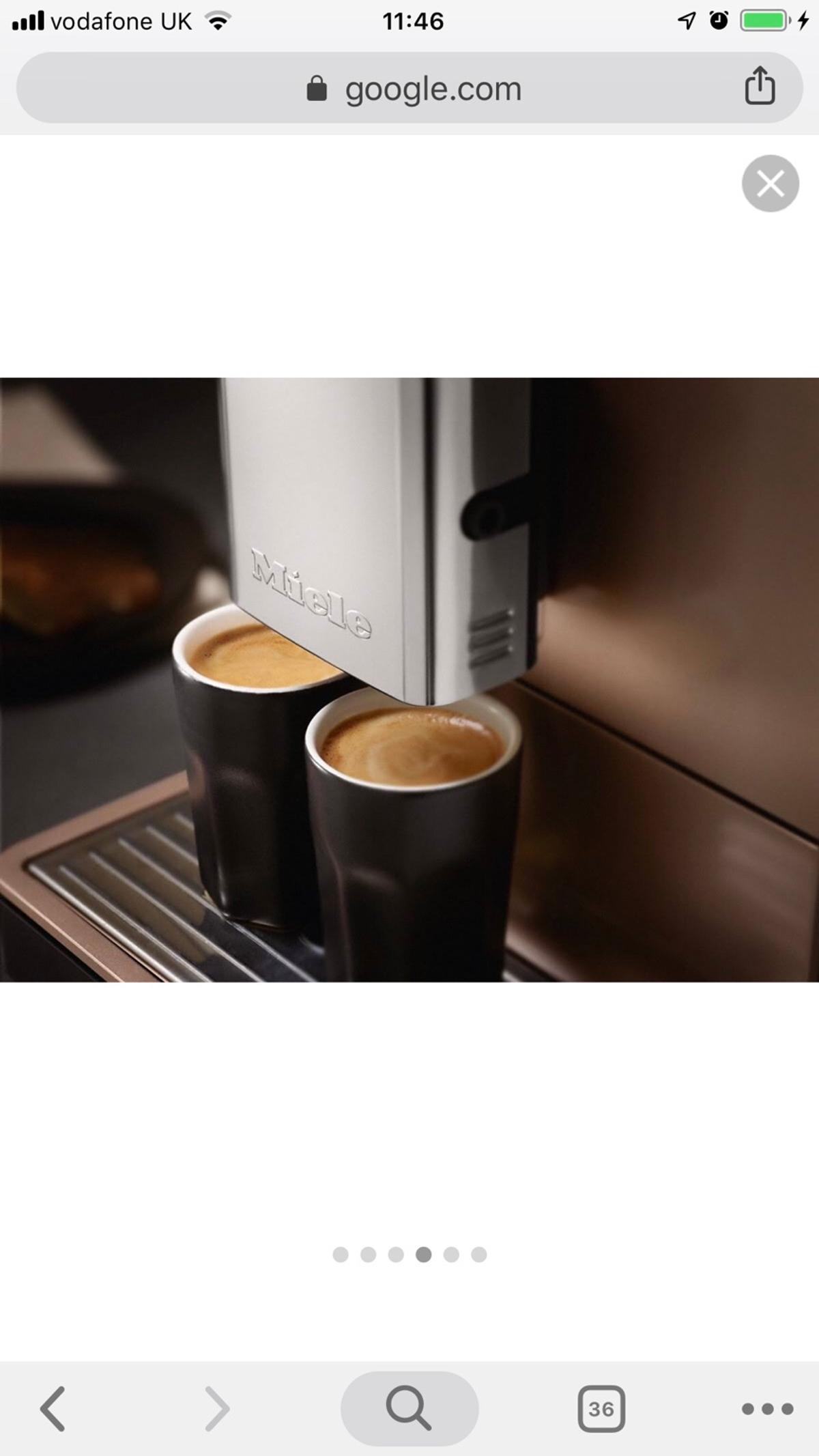 Brand New Miele Coffee Machine In Nw8 Westminster For