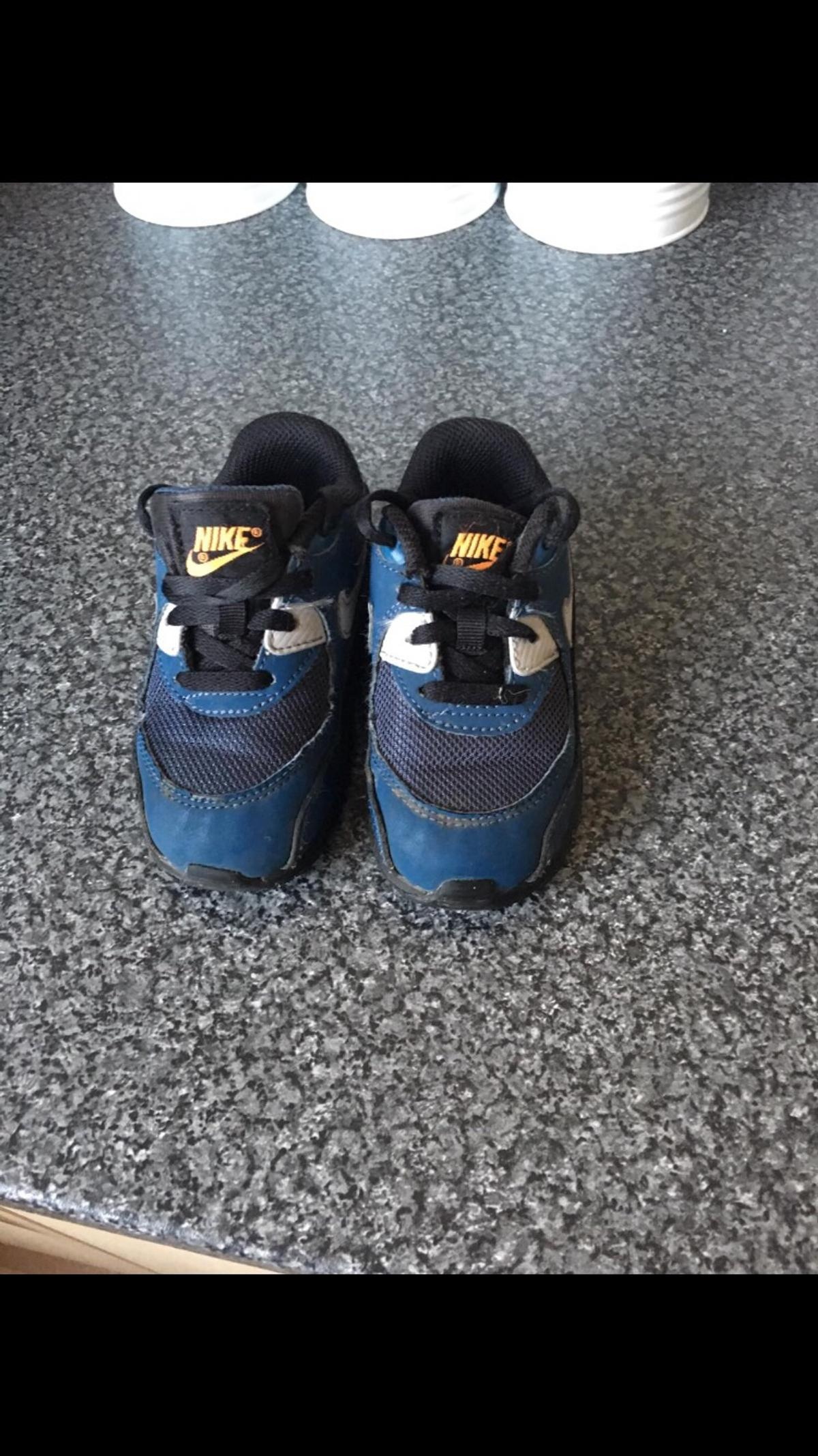 31c5fa7d786f Navy blue nike trainers 6.5 infant. in WD25 Watford for £10.00 for ...