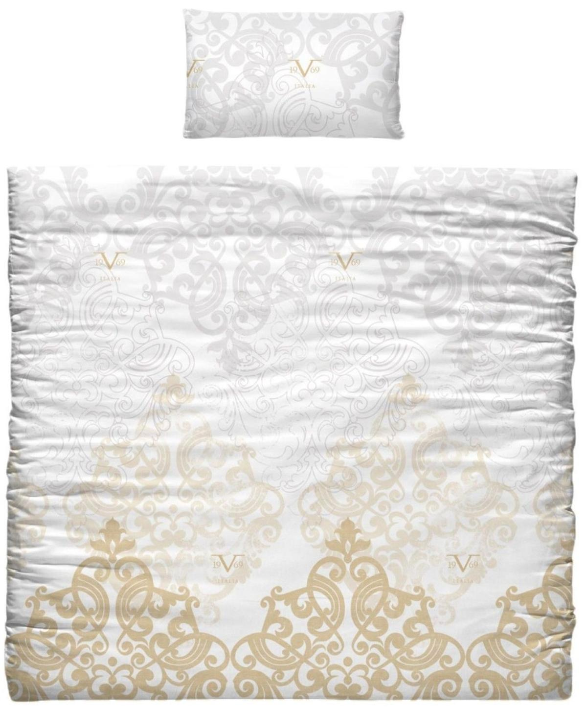 ** LUXURY GOLD & WHITE VERSACE BEDDING ** In Ng5 6ae
