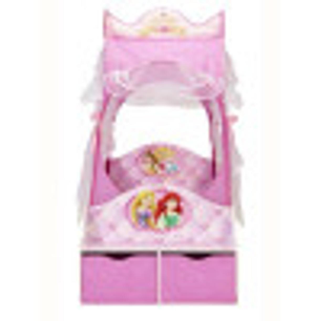 on sale 28f99 1ea8b DISNEY PRINCESS Carriage Toddler Bed 👑👑👑