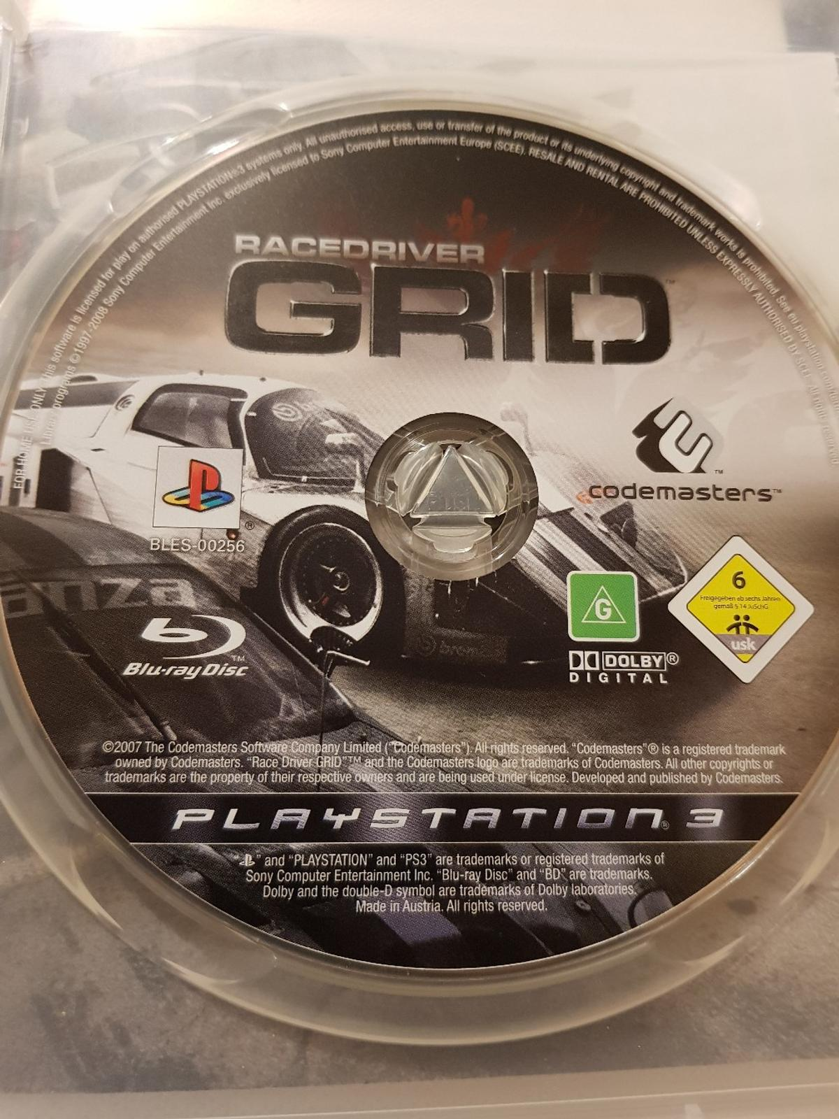 Racedriver Grid (PS3) in LS17 Leeds for £2 50 for sale - Shpock