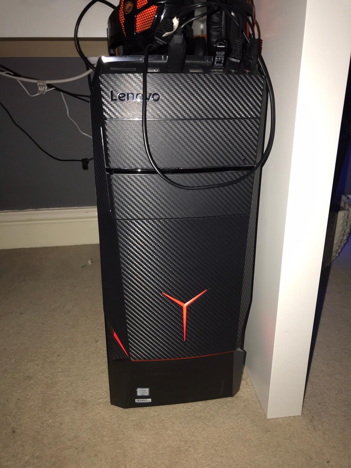 Lenovo y series gaming desktop pc in Newark and Sherwood for £300 00