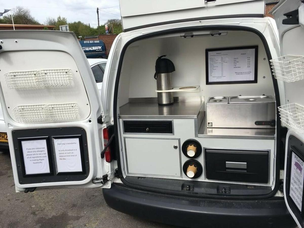 vw caddy catering van in NG8 Nottingham for £6,500 00 for