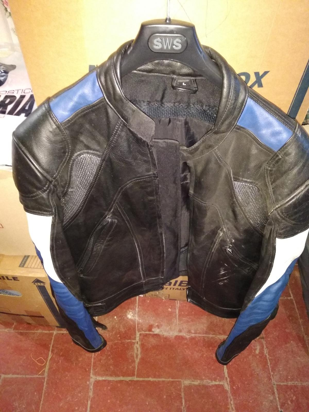 size 40 d99b4 6a2ee giacca pelle moto