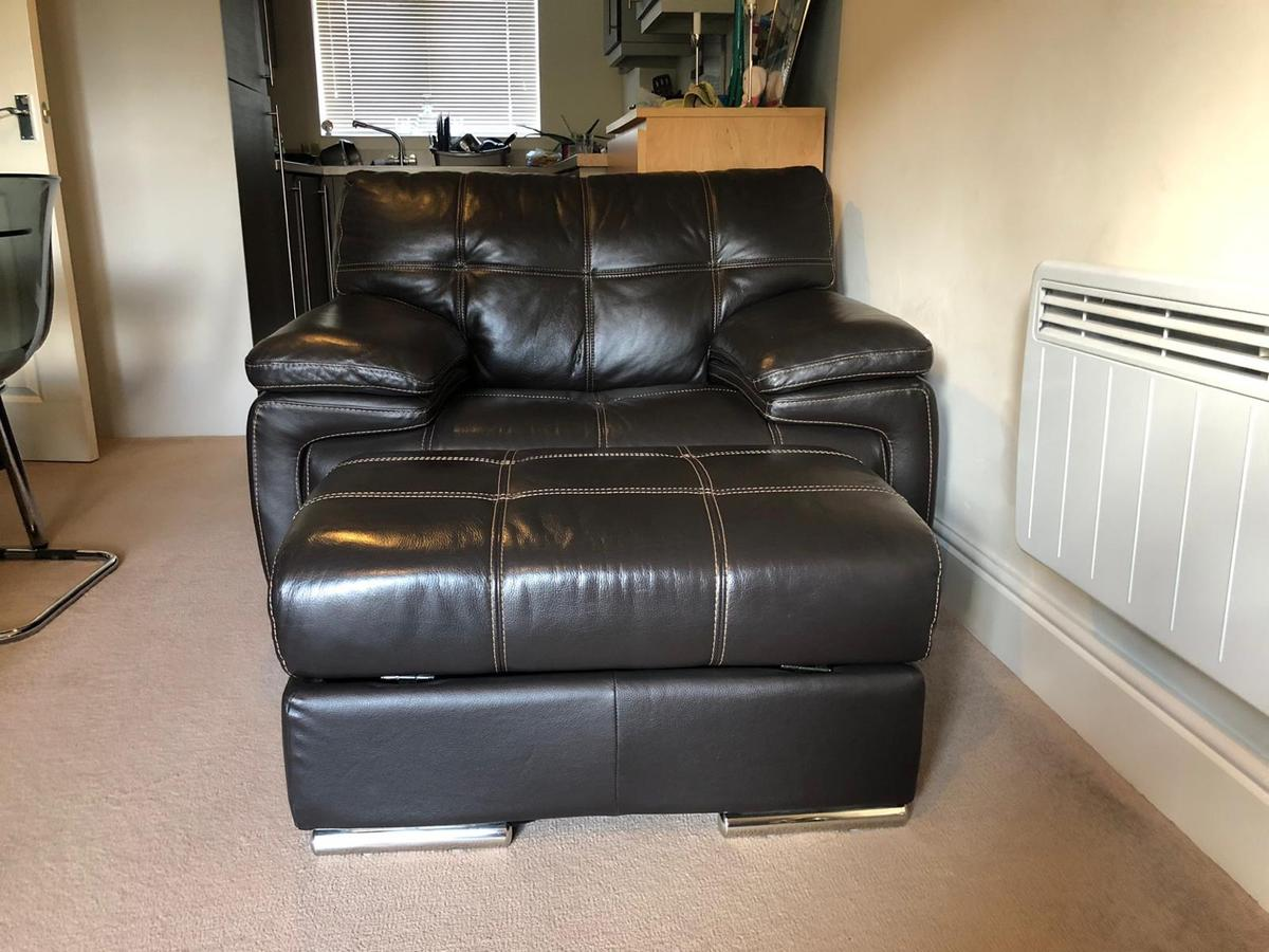 Tremendous Bergamo Verona Brown Leather Sofa Set In Ws15 Lichfield For Uwap Interior Chair Design Uwaporg