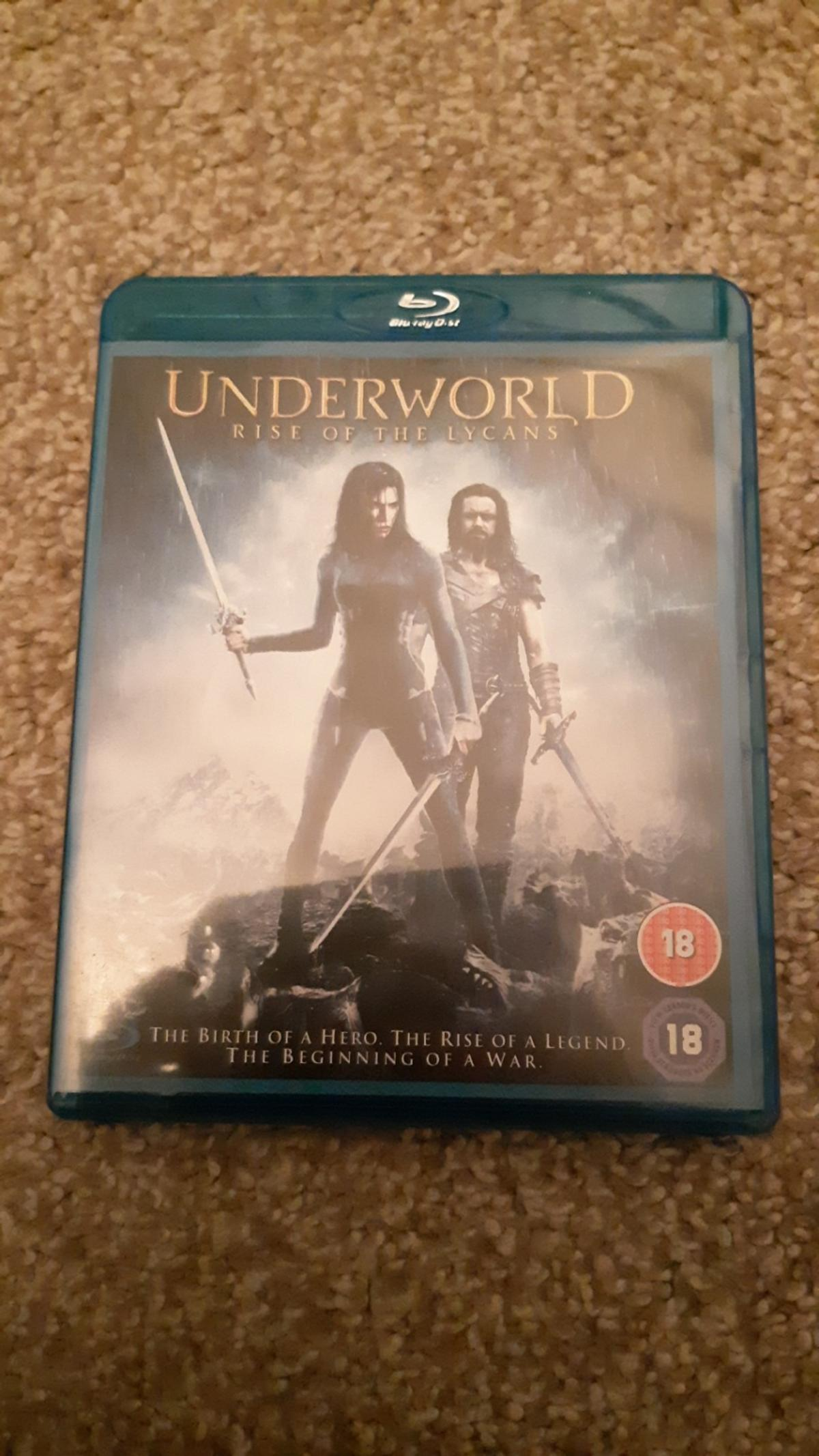 Underworld: Side of the Lycans Blu-Ray DVD