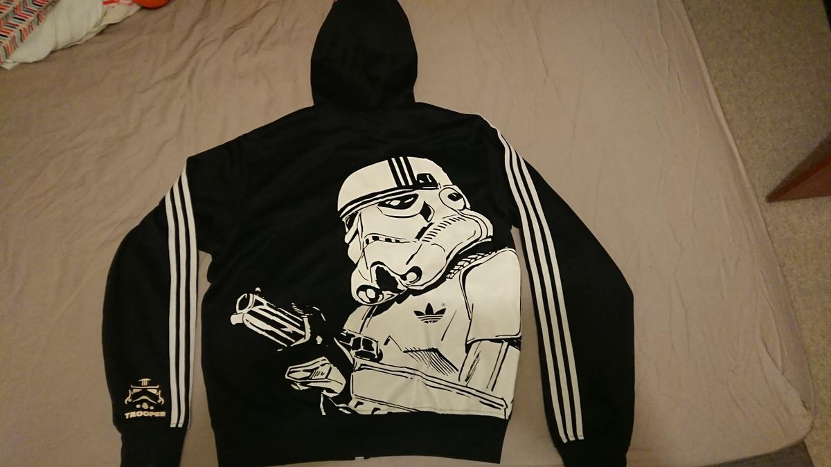 Adidas Star Wars Stormtrooper Jacket, Babies & Kids, Boys