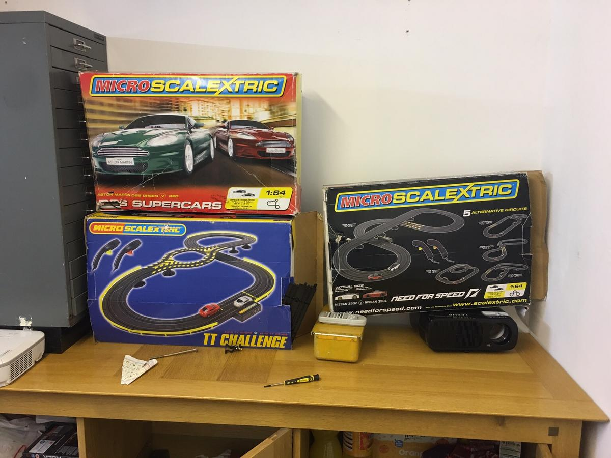 Micro scalextric 3 box for sale in B66 Sandwell for £20 00