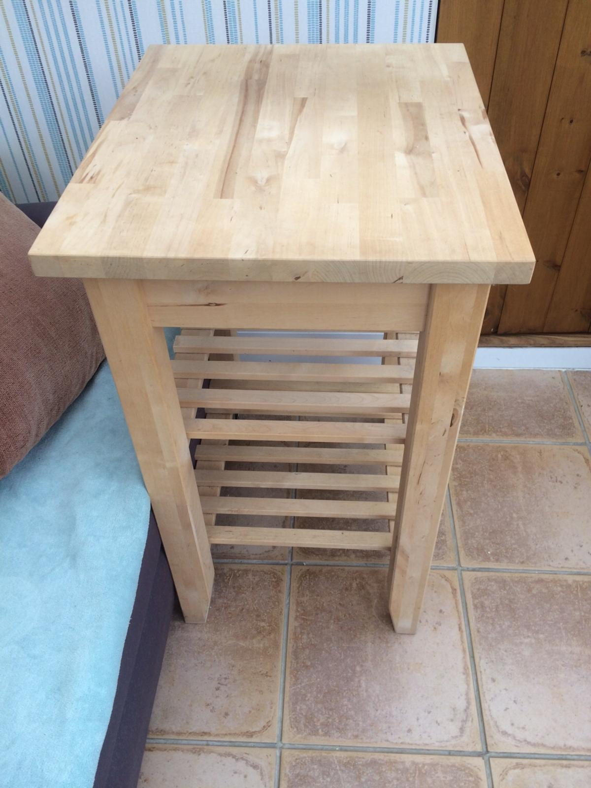 IKEA movable kitchen trolley.