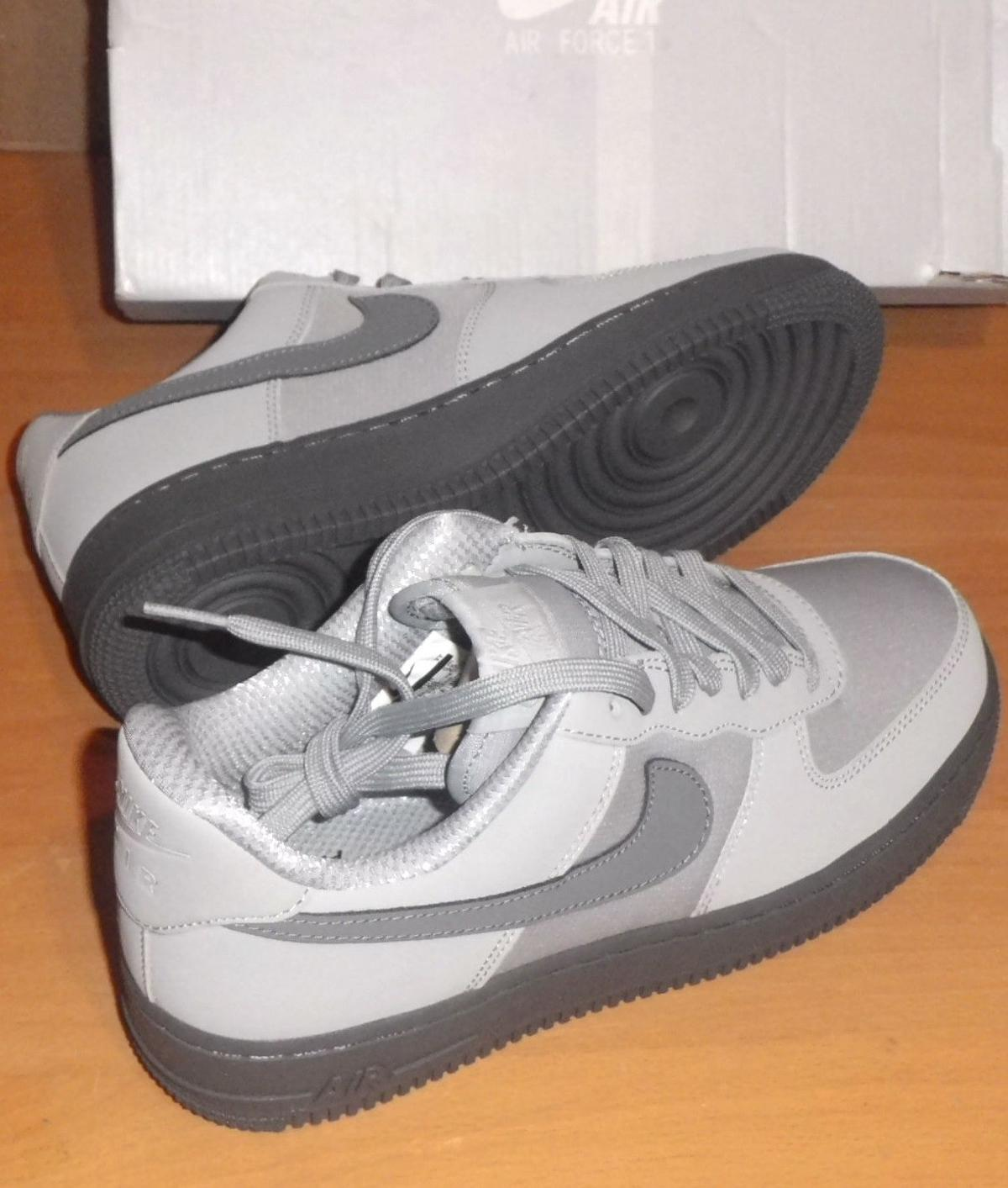 on sale df345 14f9a Nike Air Force 1 07 TXT Trainers Wolf Grey
