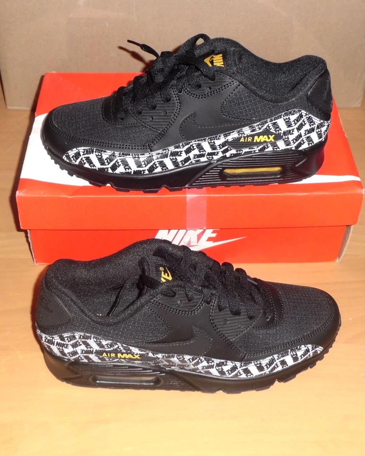 Details about Nike Air Max Thea trainers BlackWhite UK 7 EU 41