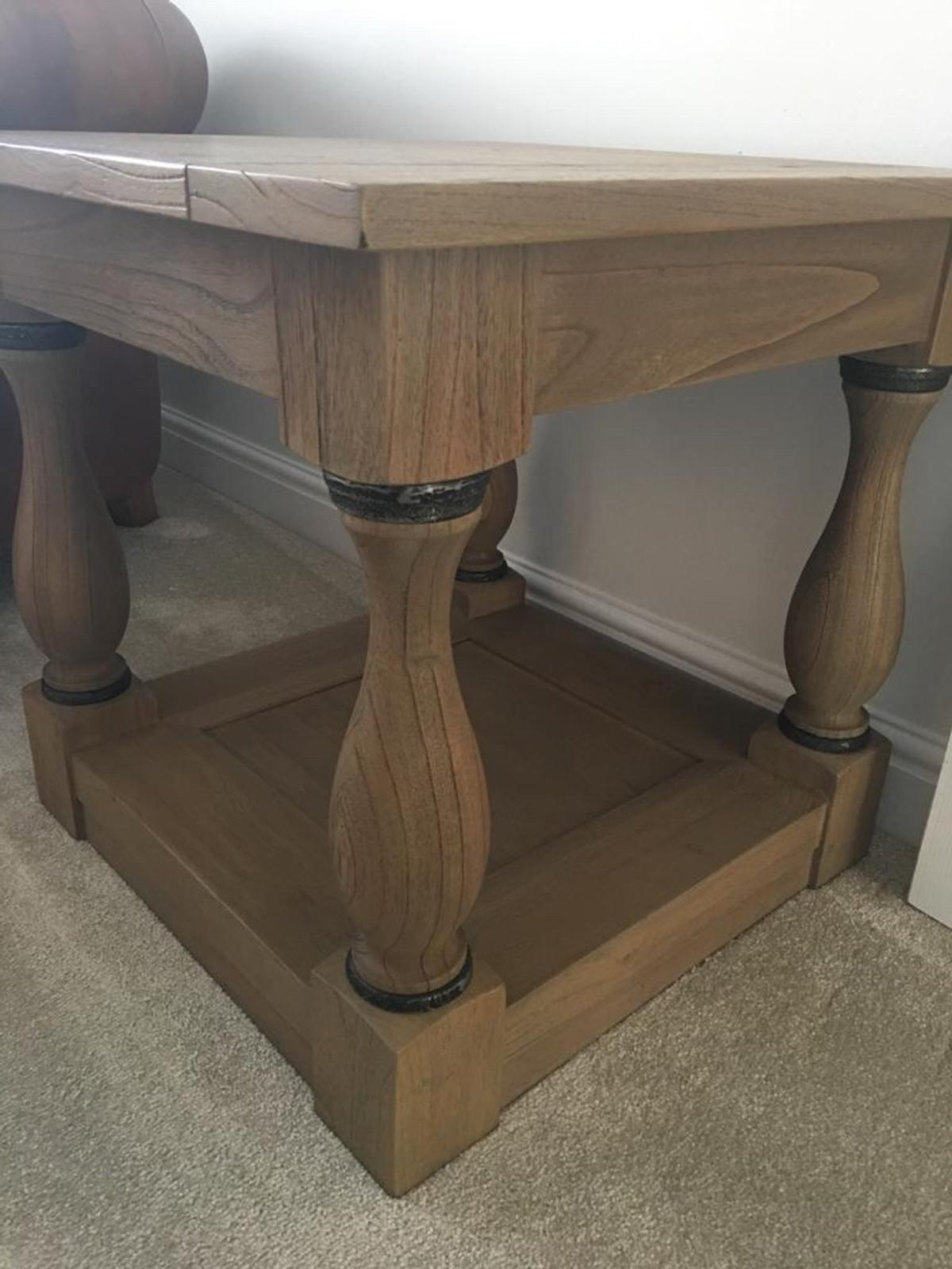 Furniture Village Oak Coffee Table In Wigan For 8000 For