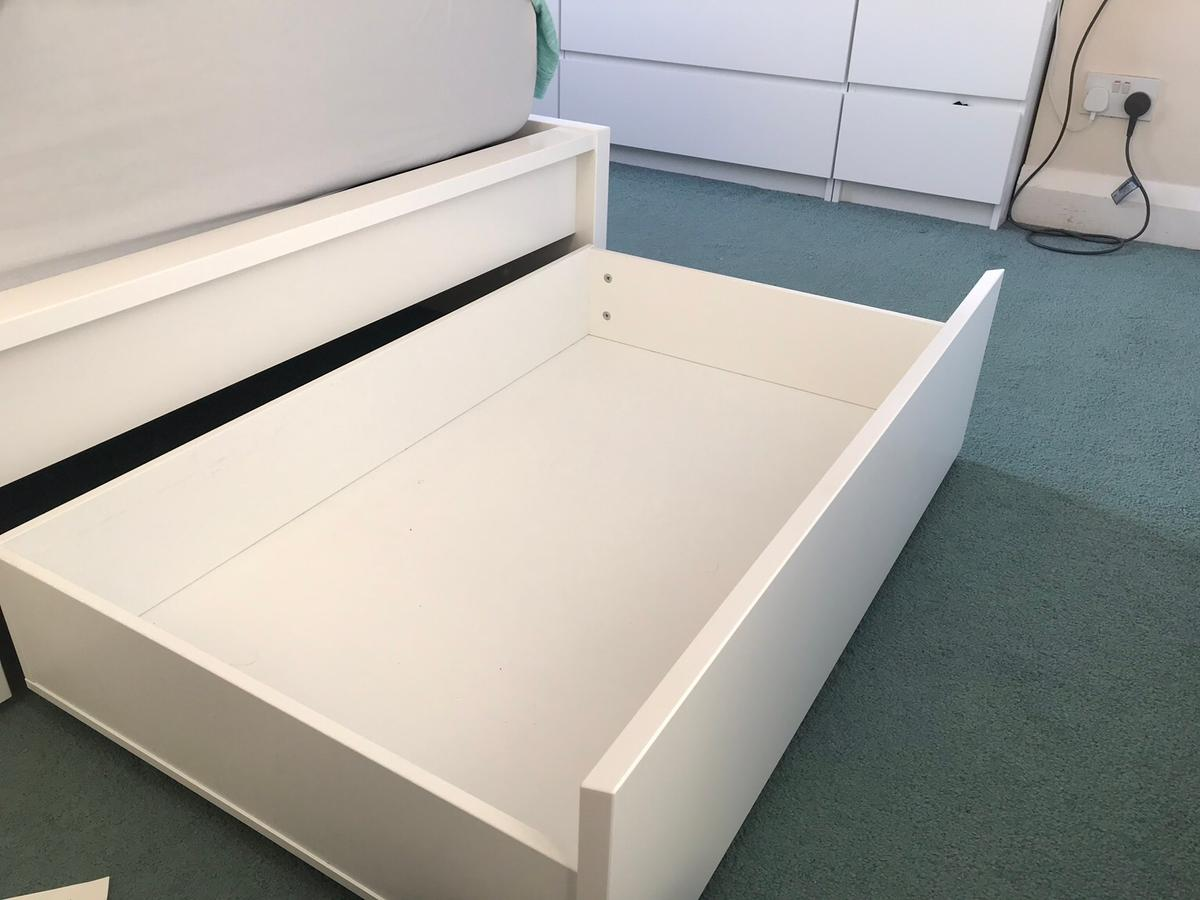 4 Ikea Malm Under Bed Draws In Tw20 Runnymede For 35 00 For Sale Shpock
