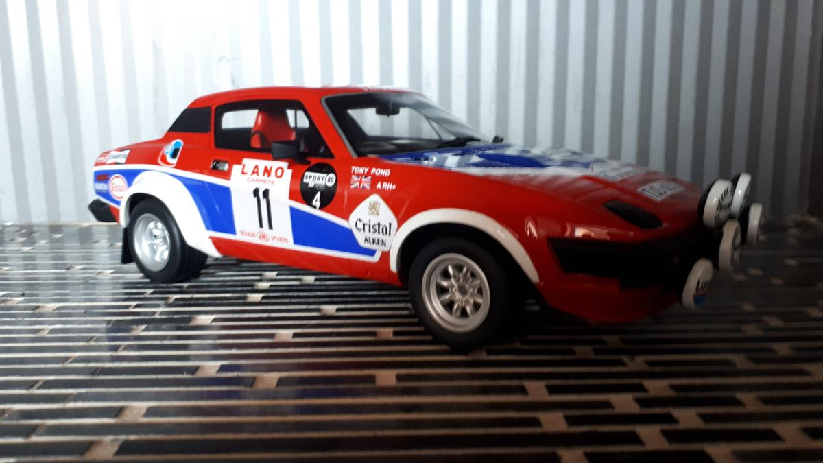Triumph Tr7 V8 Groupe 4 118 Otto In 3861 Eggern For 5500 For Sale