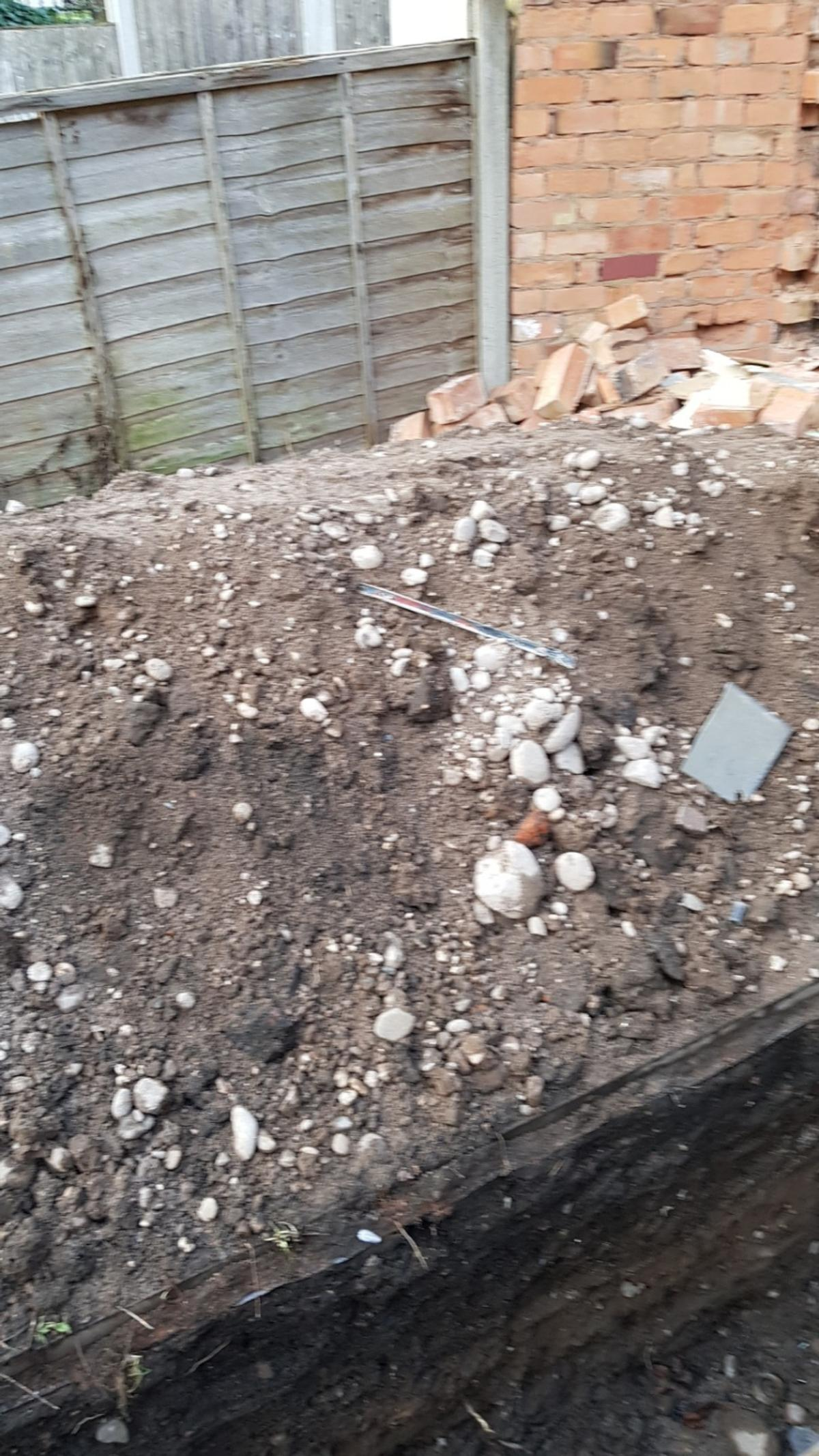 Free soil, bricks and a few slabs in B8 Birmingham for free