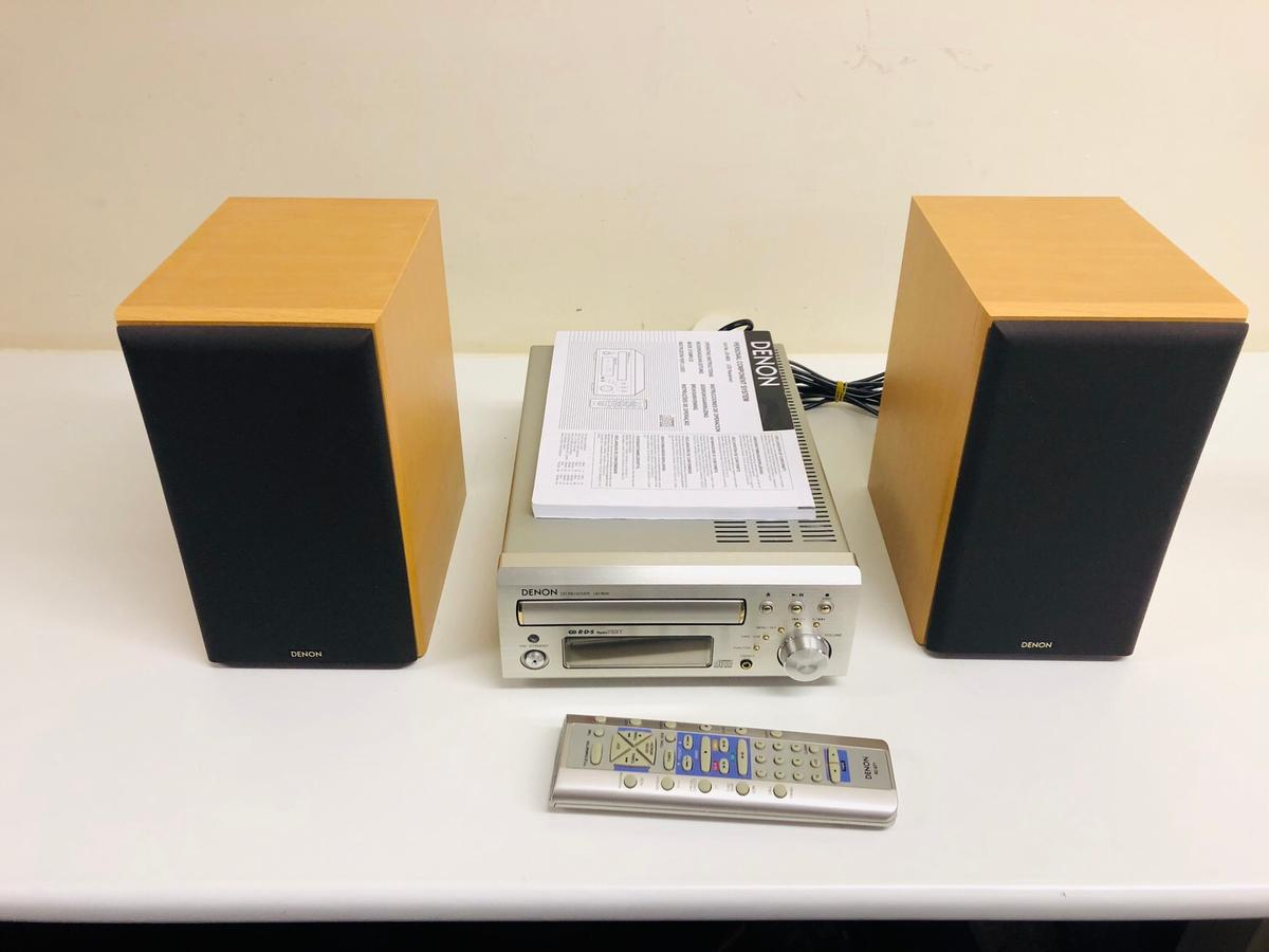 DENON UD-M30 AND MISSION SPEAKERS in SA4 Gorseinon for £130 00 for