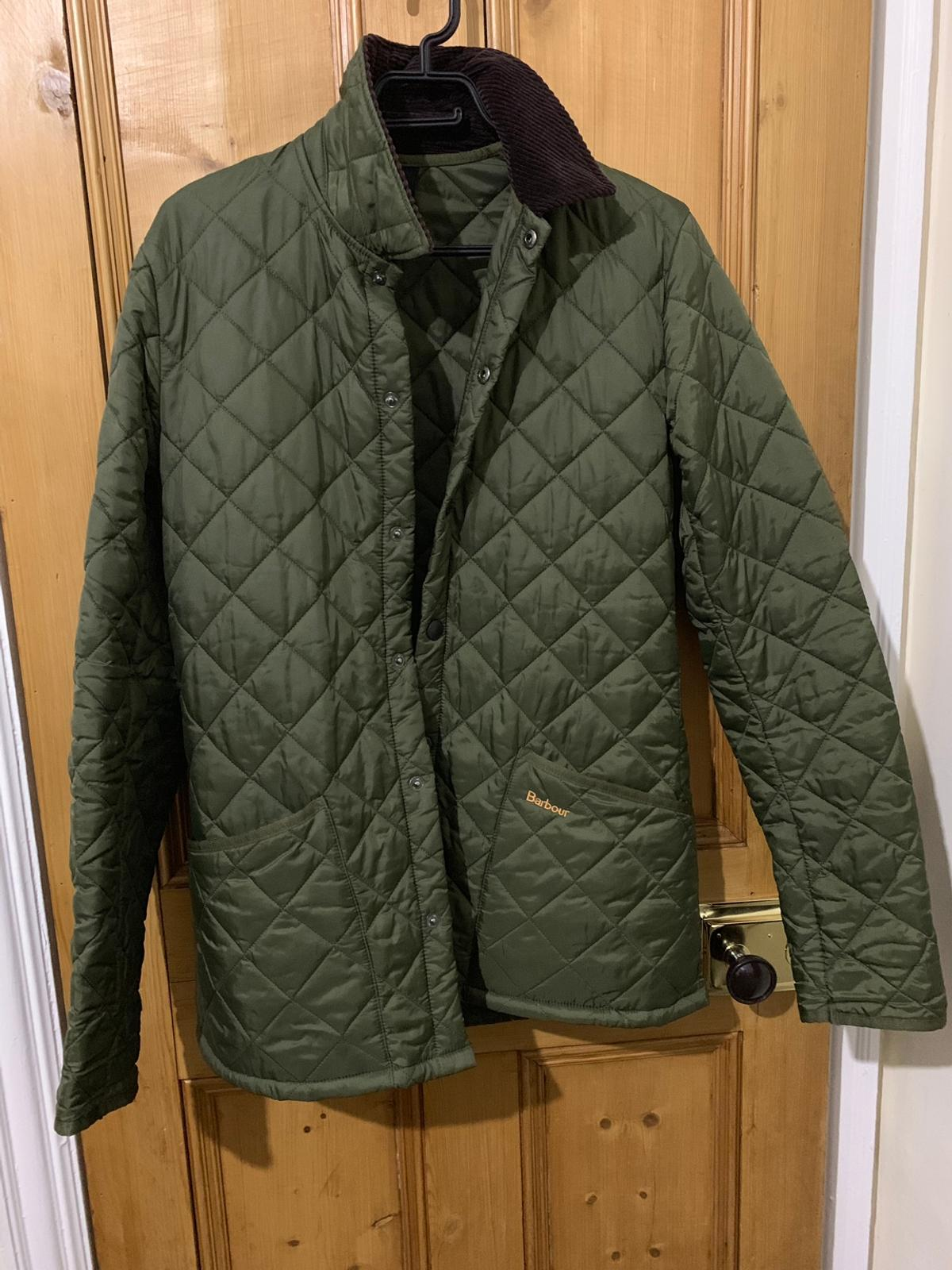 2703ff4b840b7 Barbour Liddesdale Quilted Jacket Green XS