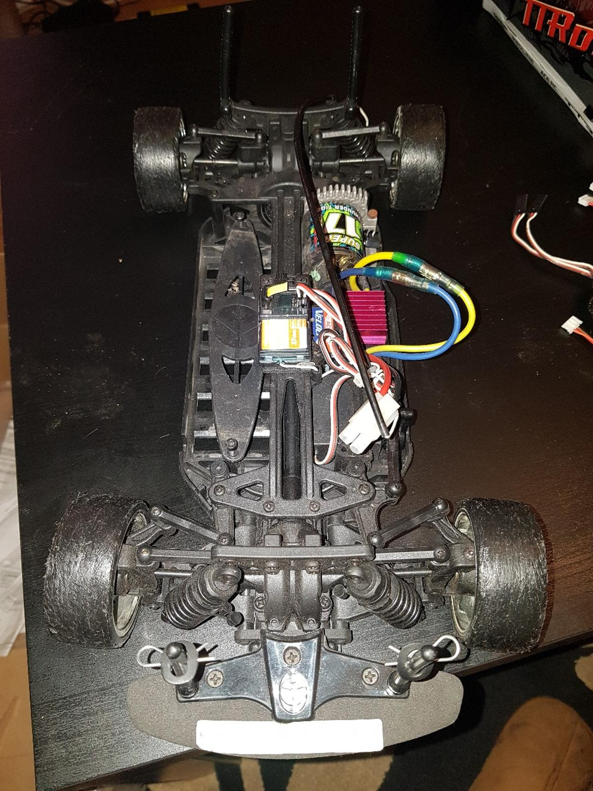 thunder tiger sparrowhawk dc rc drift car 4wd in B71 Sandwell for