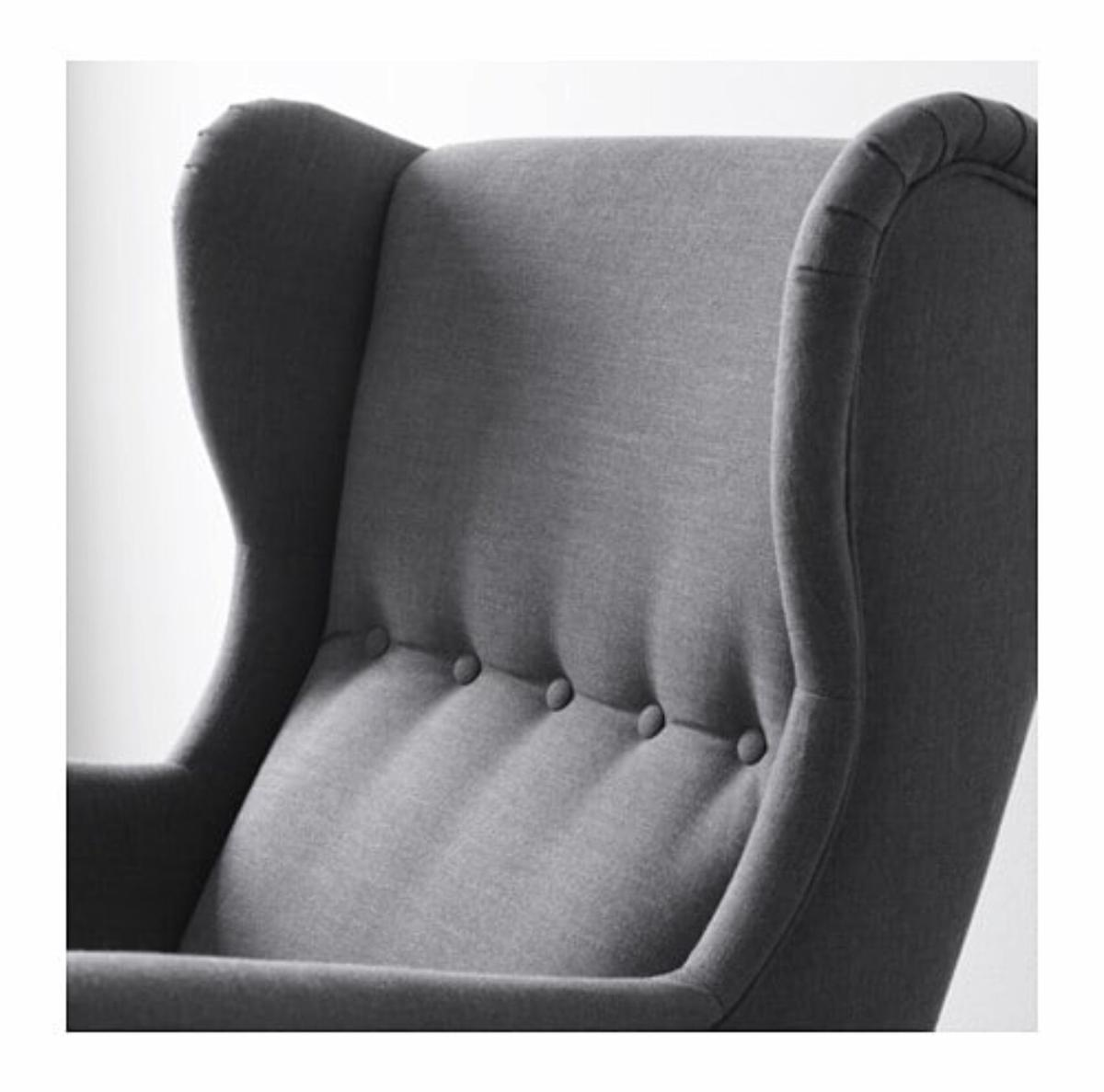 Picture of: Ikea Strandmon Wing Chair Grey In Barnsley For 160 00 For Sale Shpock