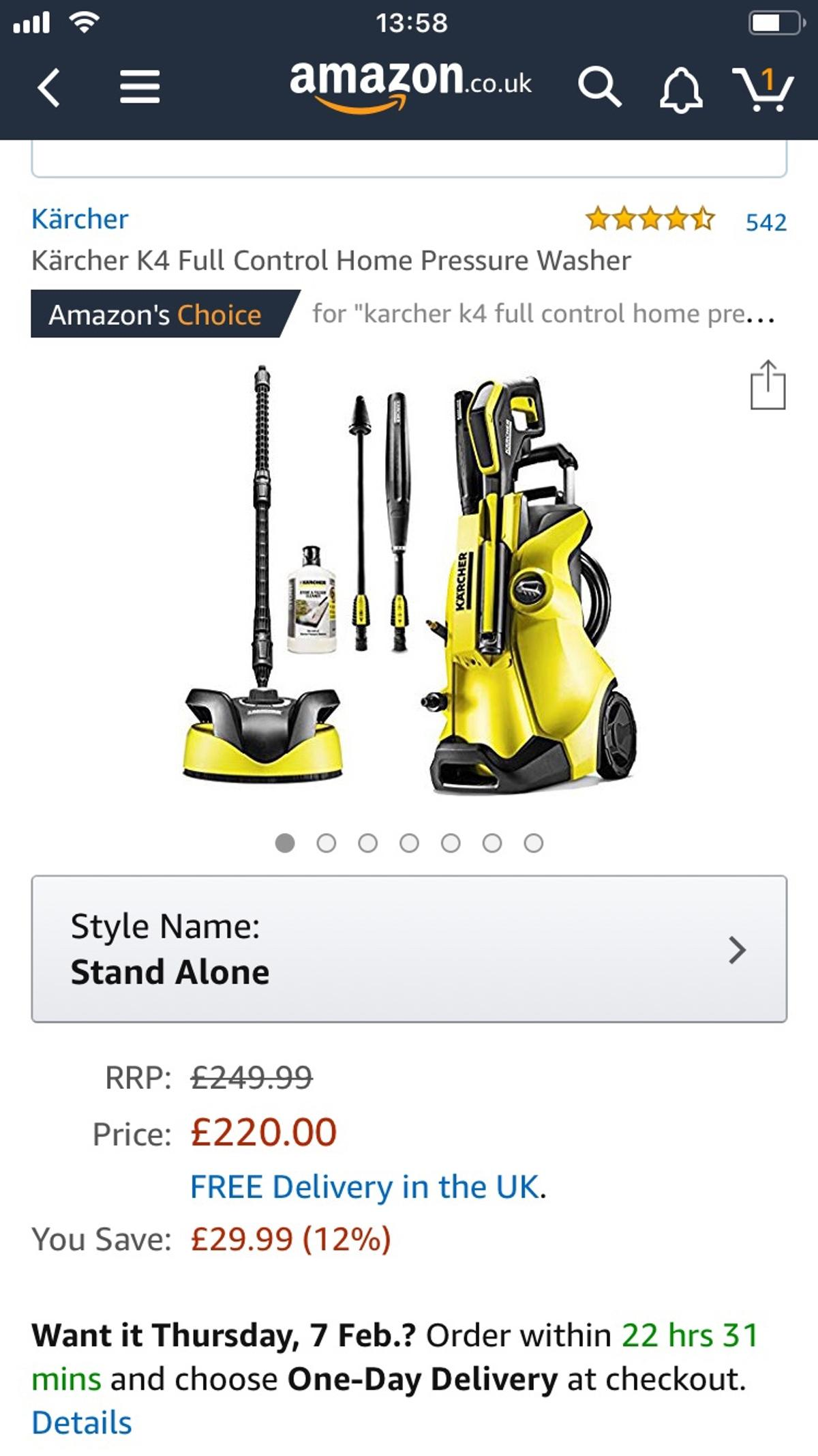 Brand new!!! Karcher pressure washer in SO22 Winchester for