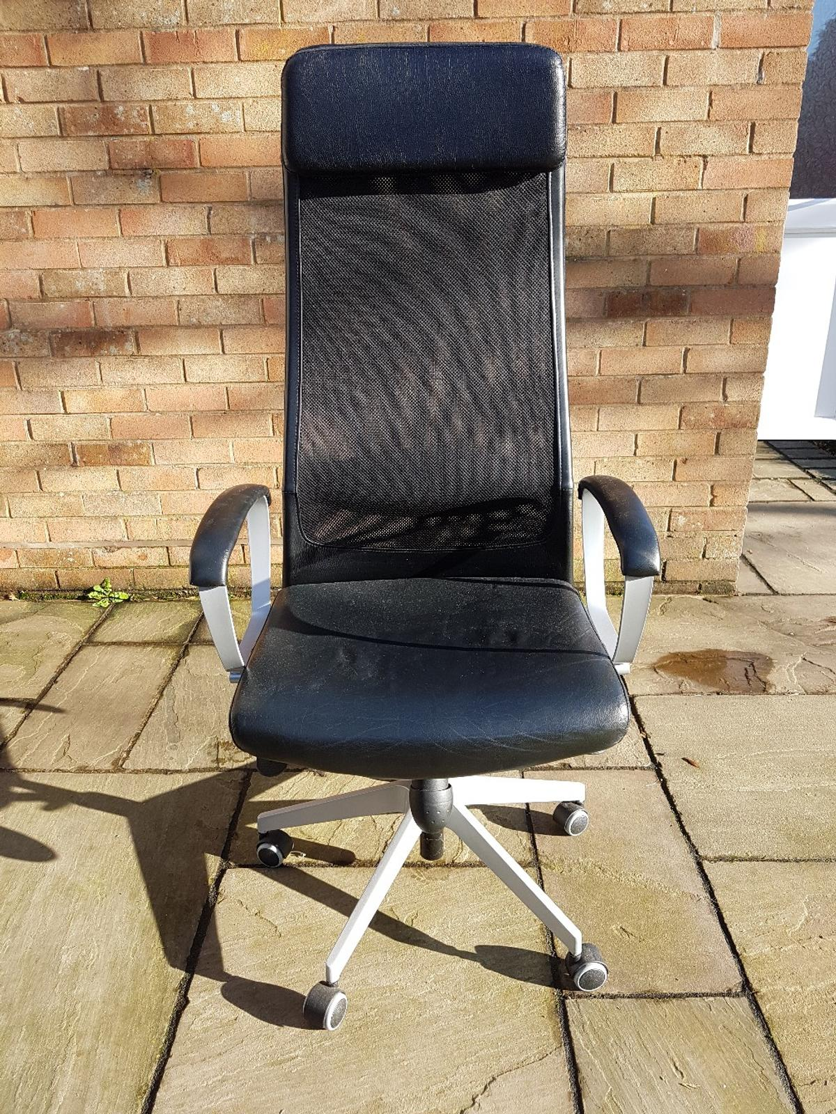 Astounding Ikea Markus Swivel Chair In Wolverhampton For 75 00 For Theyellowbook Wood Chair Design Ideas Theyellowbookinfo