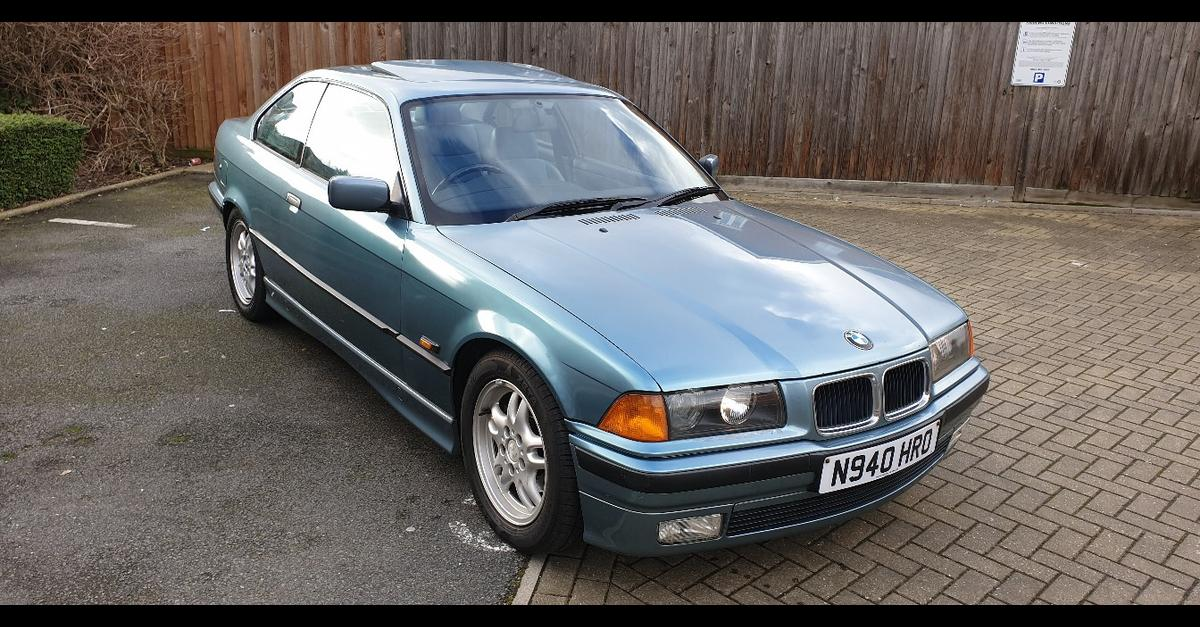 bmw e36 328i Coupe Morea green in NW10 London for £1,100 00