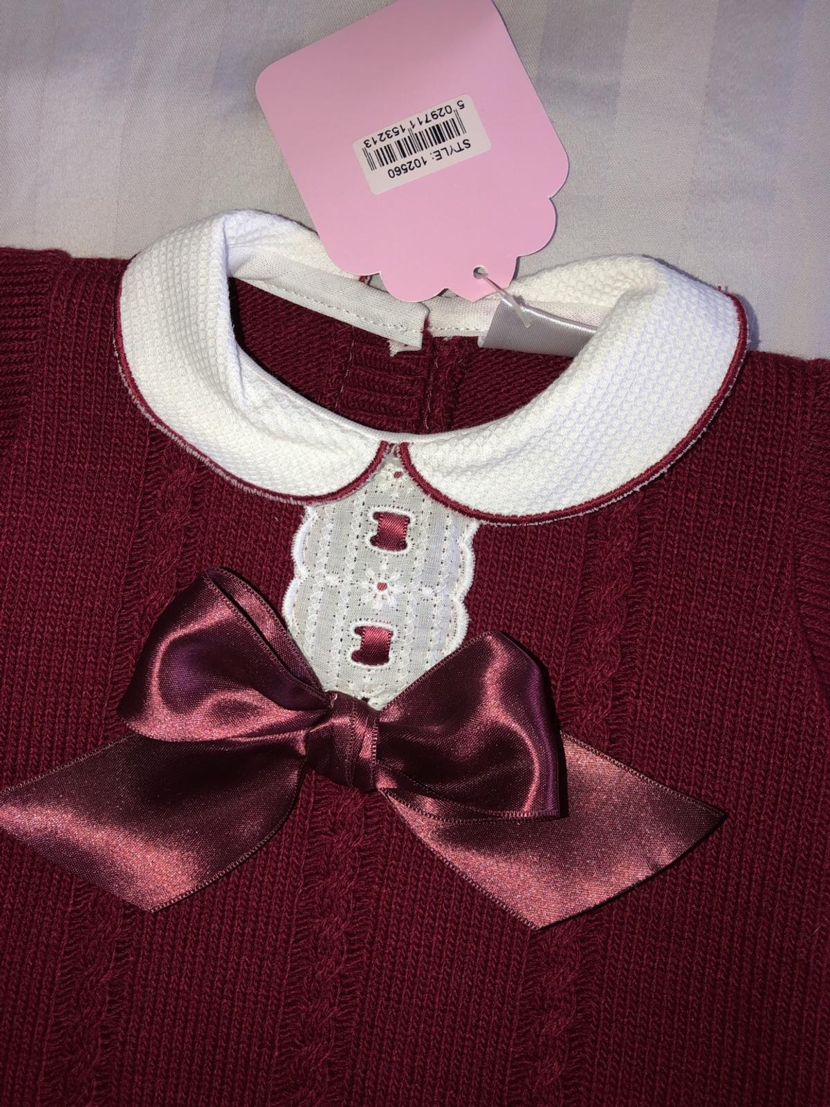aad201679 Spanish baby girl knitted Dress in DA8 Bexley for £10.00 for sale ...