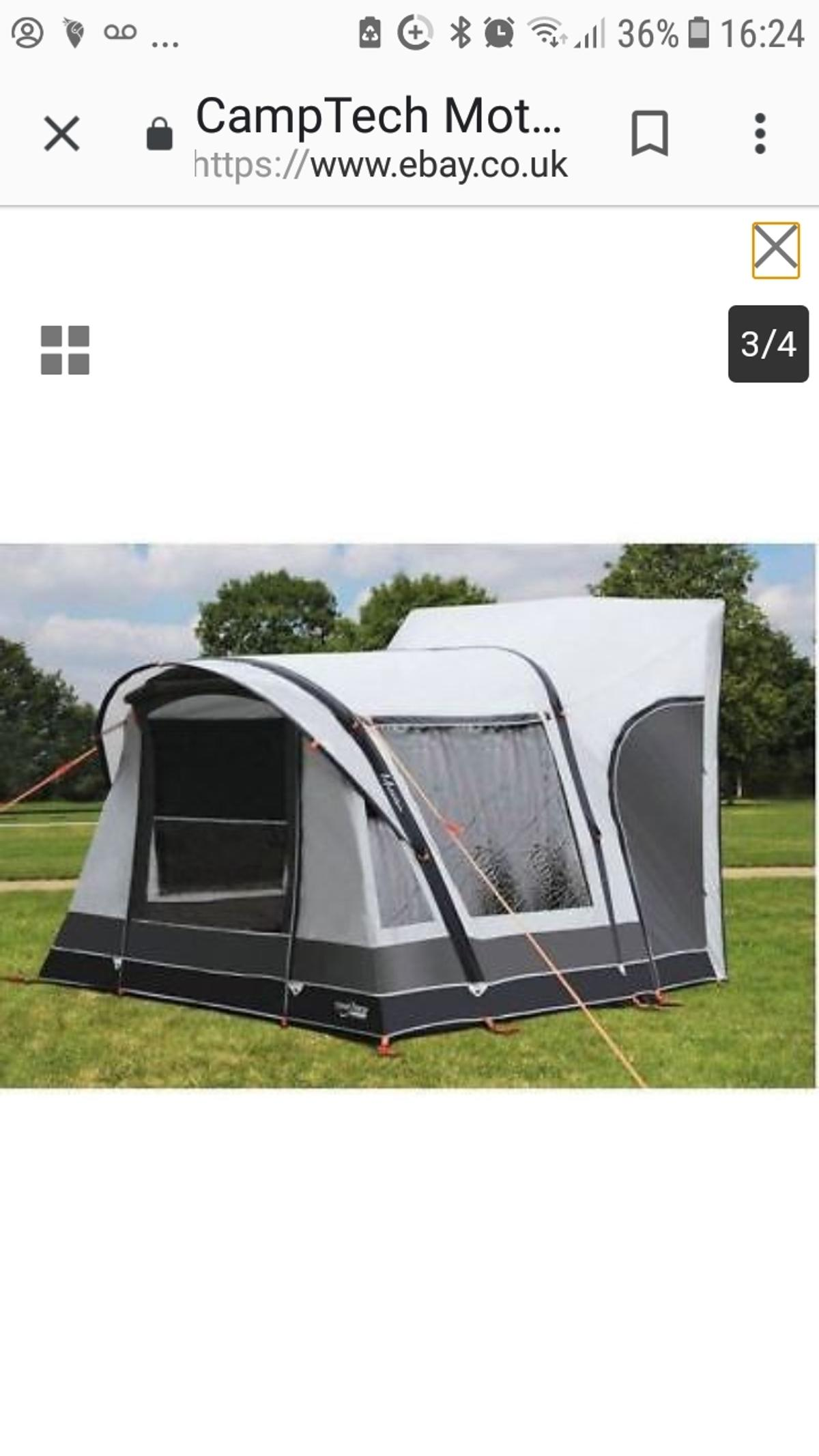 Admirable Camptech Motoair Driveaway Air Awning In Ch42 Wirral For Download Free Architecture Designs Rallybritishbridgeorg