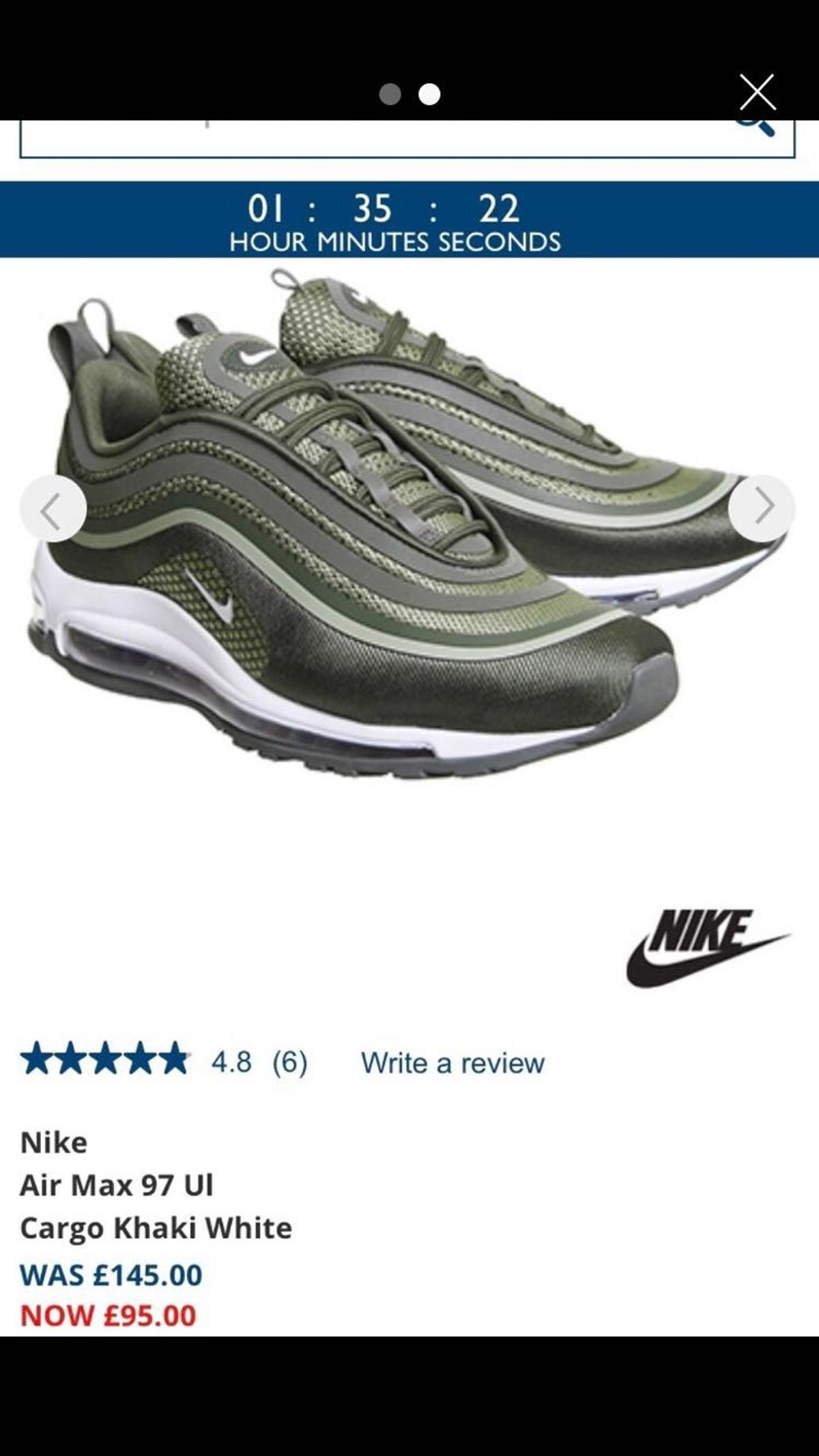 25737d271e nike air max 97 in B71 Sandwell for £40.00 for sale - Shpock