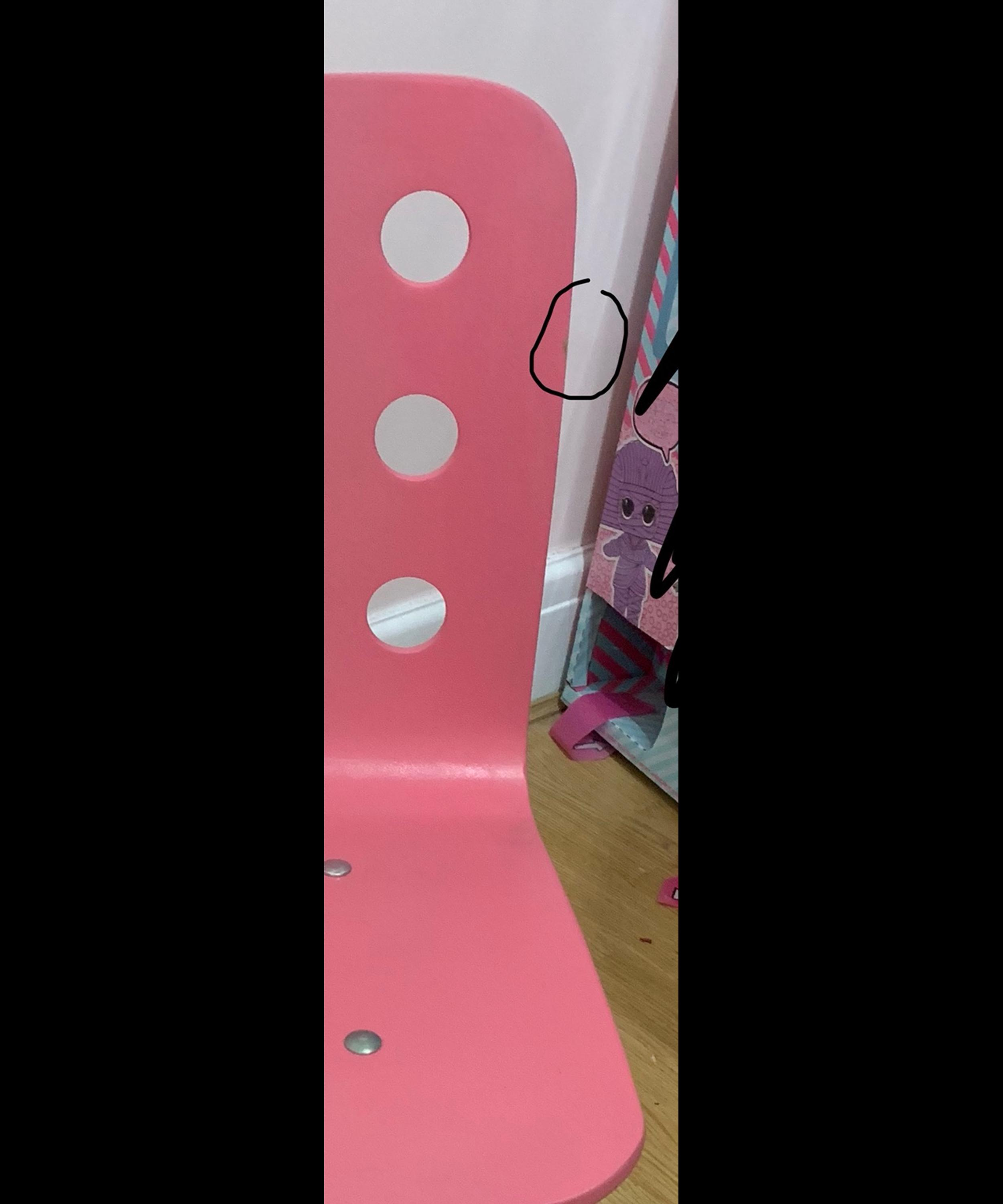 Awesome Ikea Pink Childs Desk Chair Theyellowbook Wood Chair Design Ideas Theyellowbookinfo