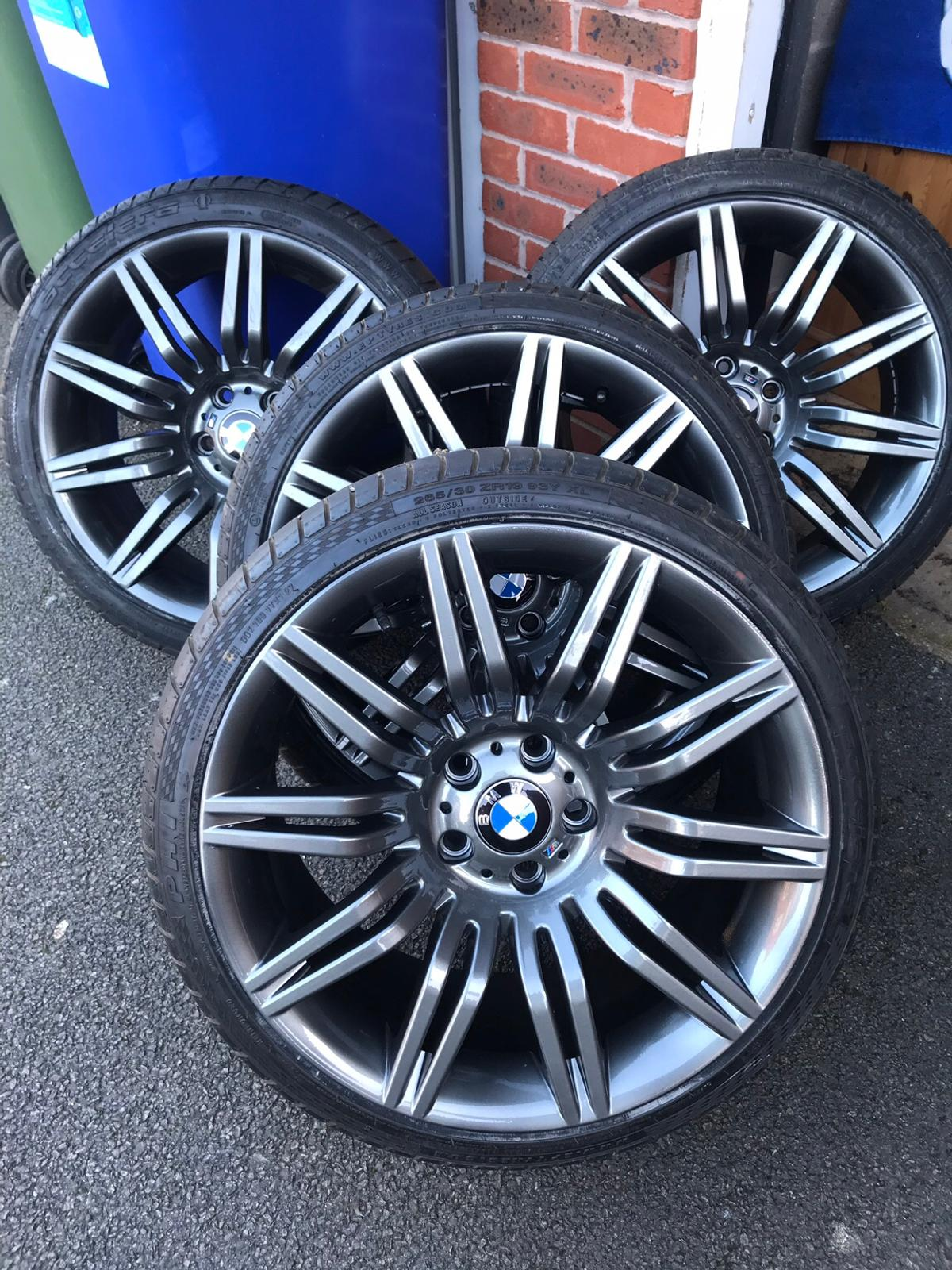 19 Bmw Spider Alloys With New Tyres In Peterborough For 845 00 For Sale Shpock