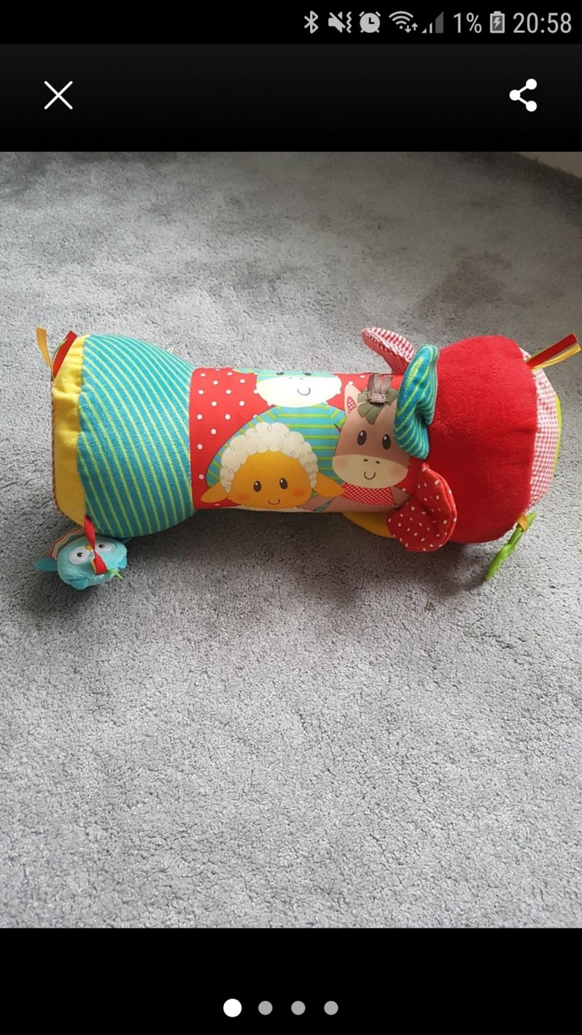 Early Learning Centre Blossom Farm Baby Tummy Time Roller