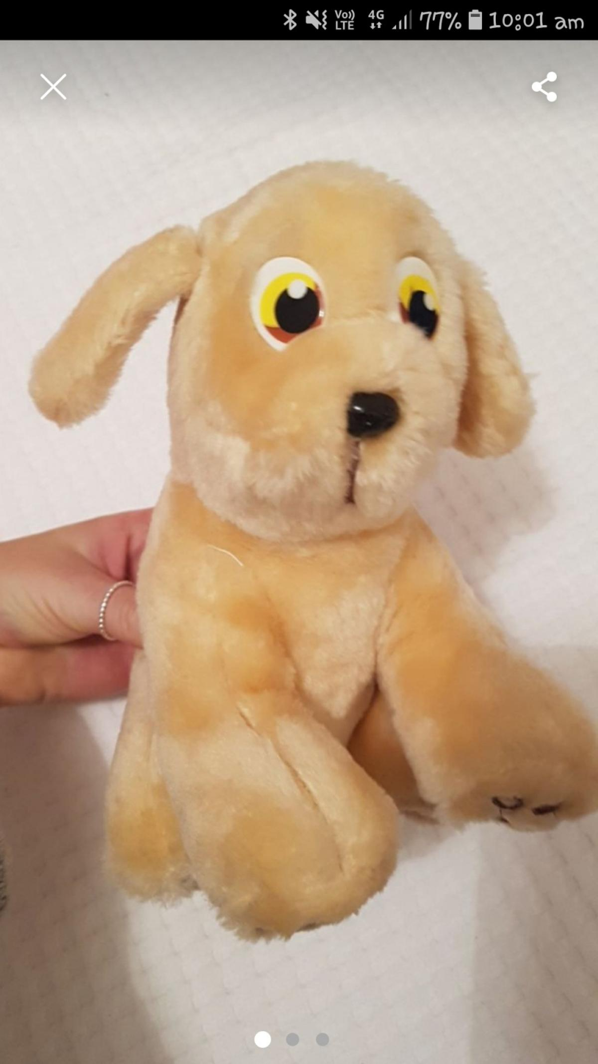 Vintage andrex puppy toy