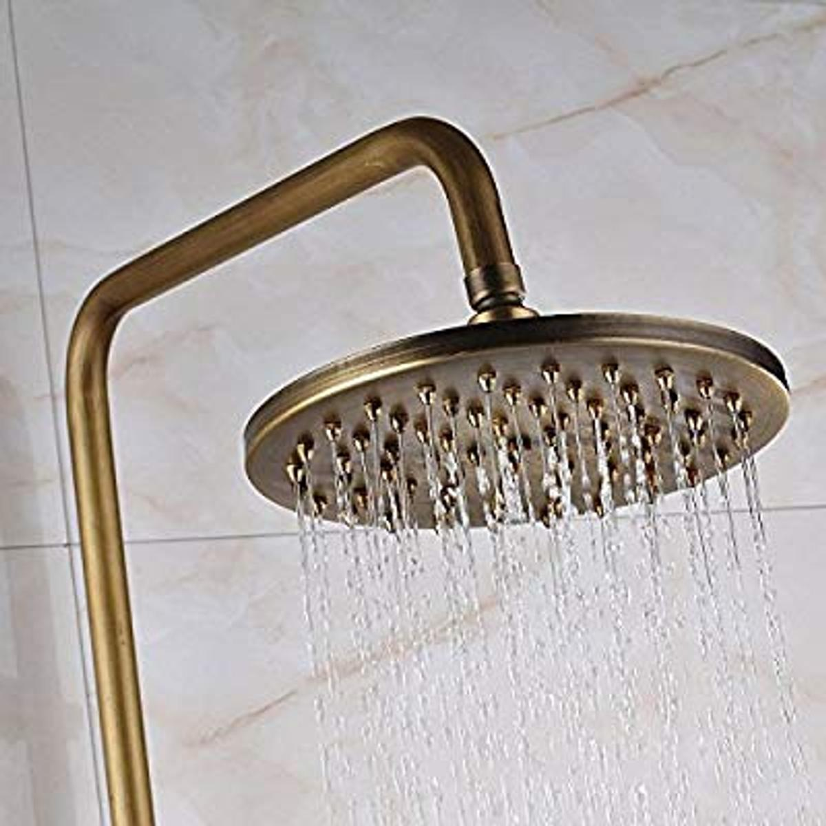 Bnib Wall Mount Rainfall Shower Taps In Whitchurch For
