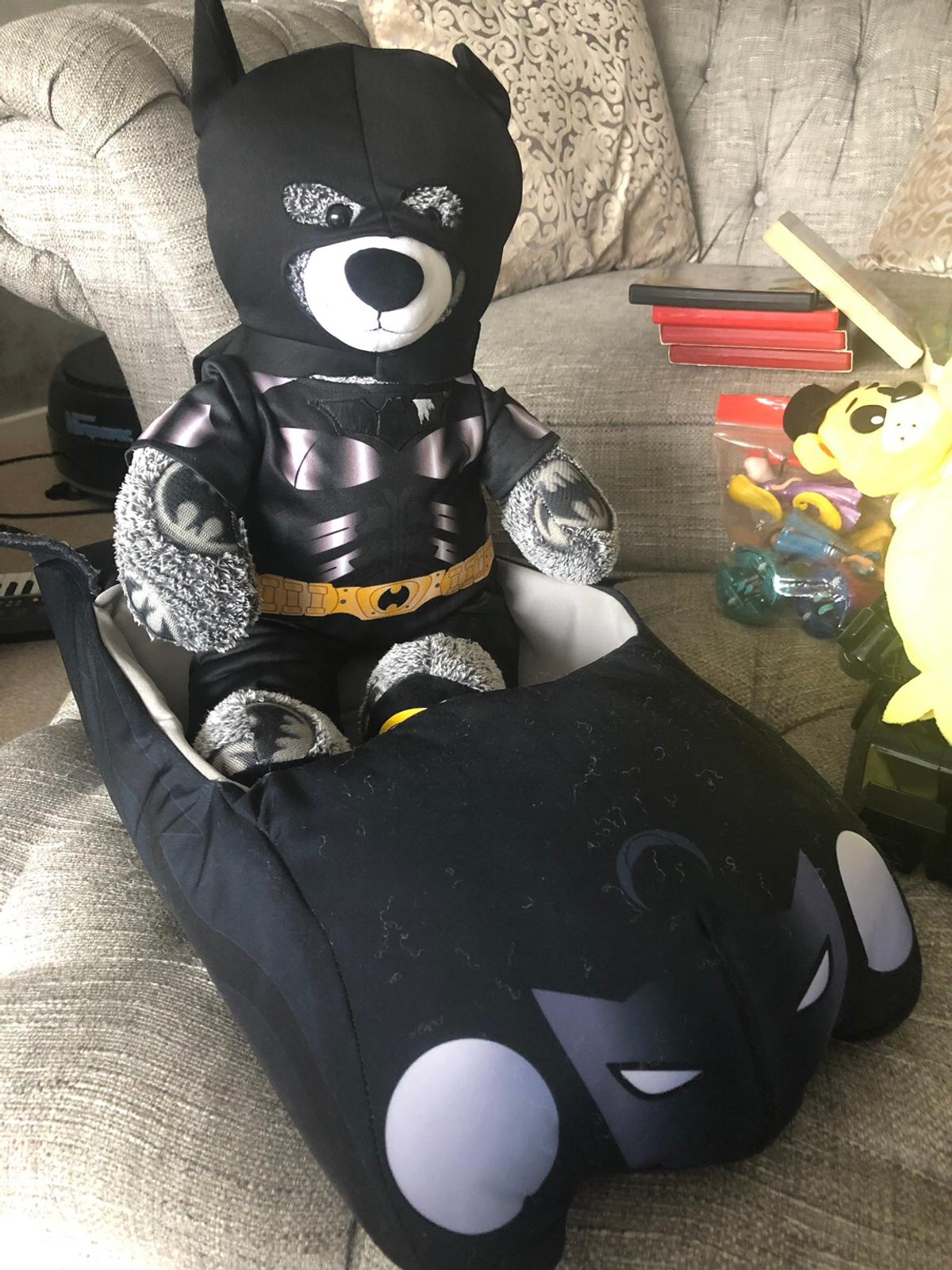 Build a bear batman with car sound and suit in RH10 Sussex