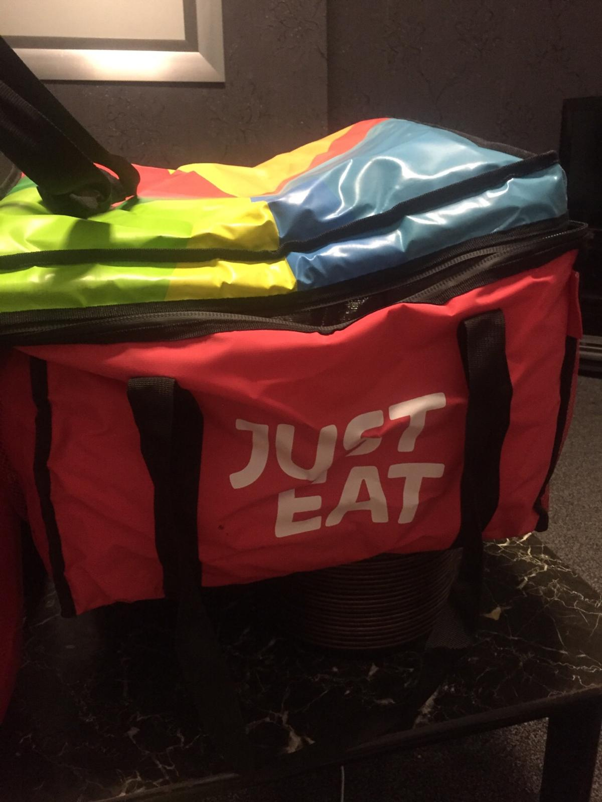 Justeats Pizza Delivery Bags