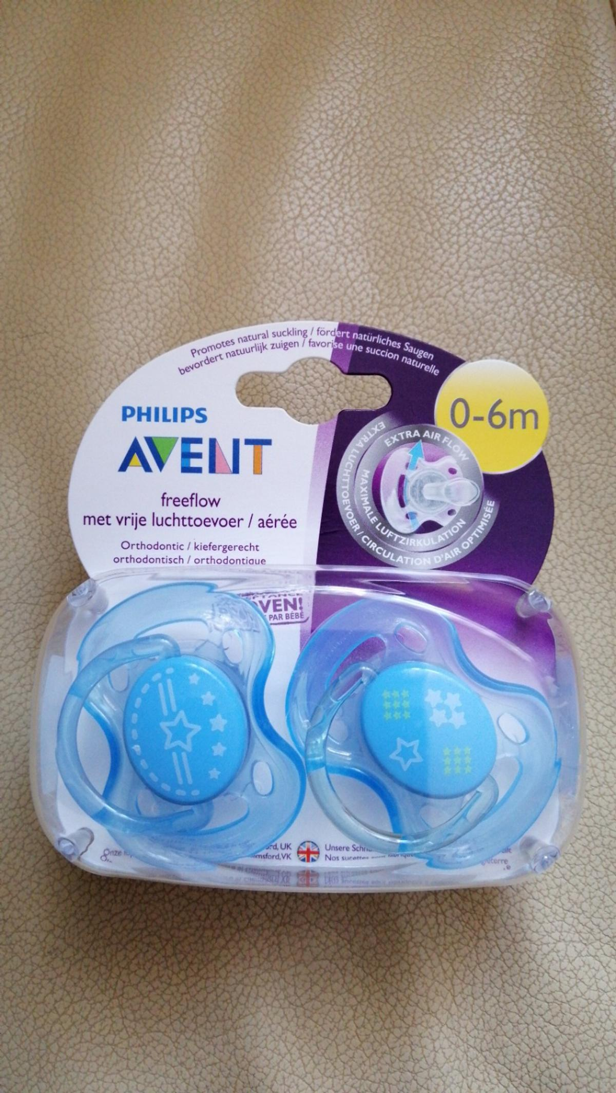 Philips Avent Fashion Schnuller 0-6m Blau