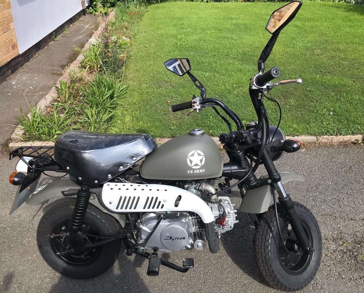 Skyteam 125cc Monkey Bike in LE11 Charnwood for £800 00 for