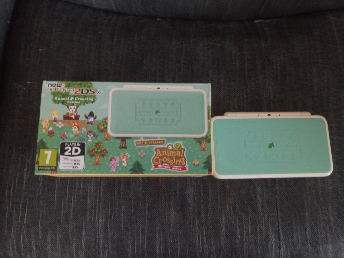 2DS XL Animal Crossing New Leaf Console