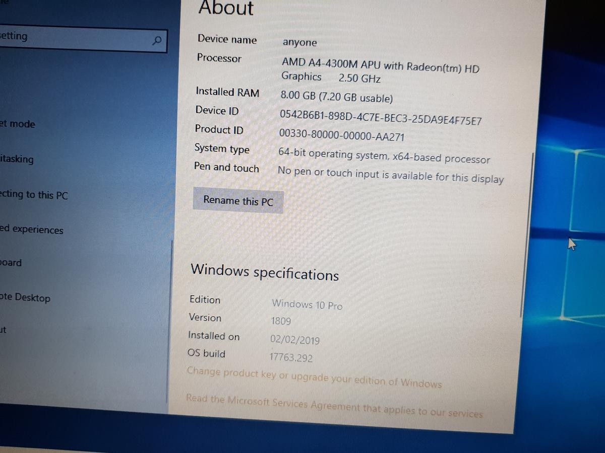hp probook 455 G1 windows 10 in S8 Sheffield for £140 00 for