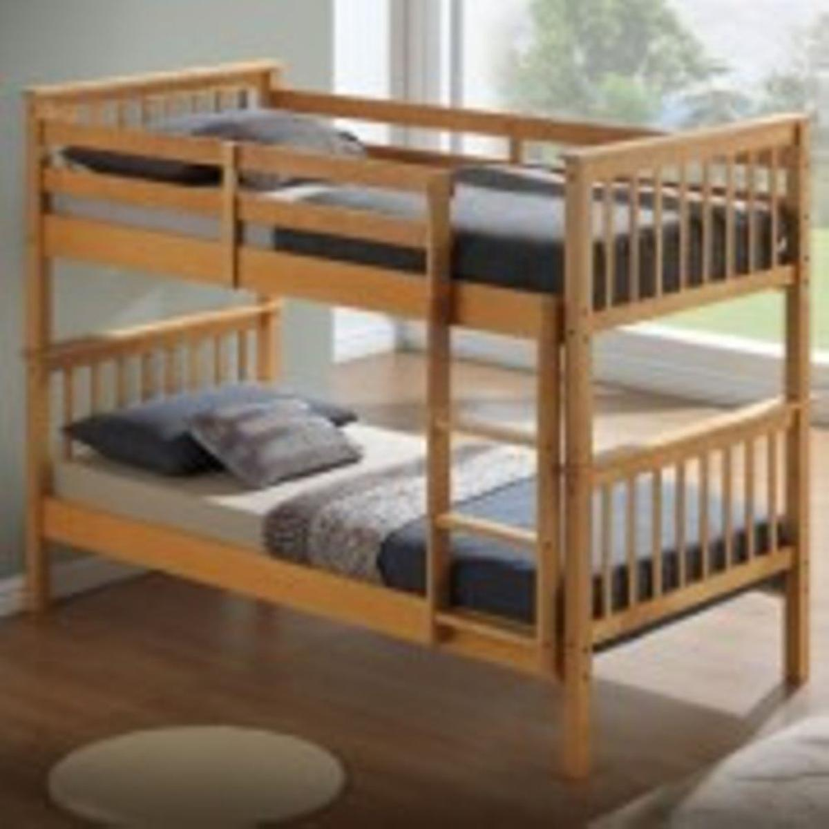 Picture of: Wooden Bunk Bed Ortho Mattress Single In Ls122ua Leeds For 269 99 For Sale Shpock
