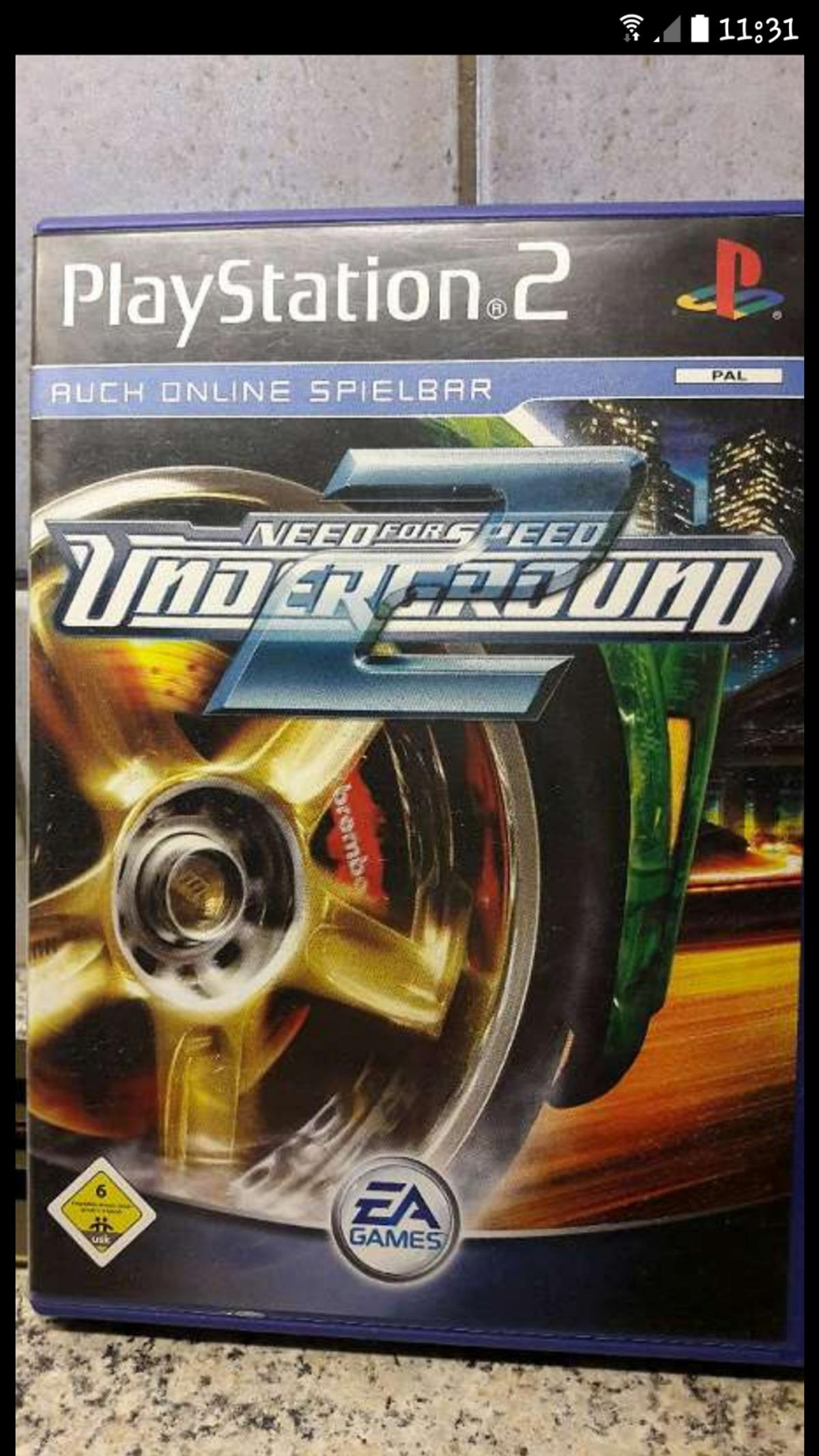 4b7d57e34 Need for Speed Underground 2 Für Playstation2 in 4600 Wels für 7,00 ...