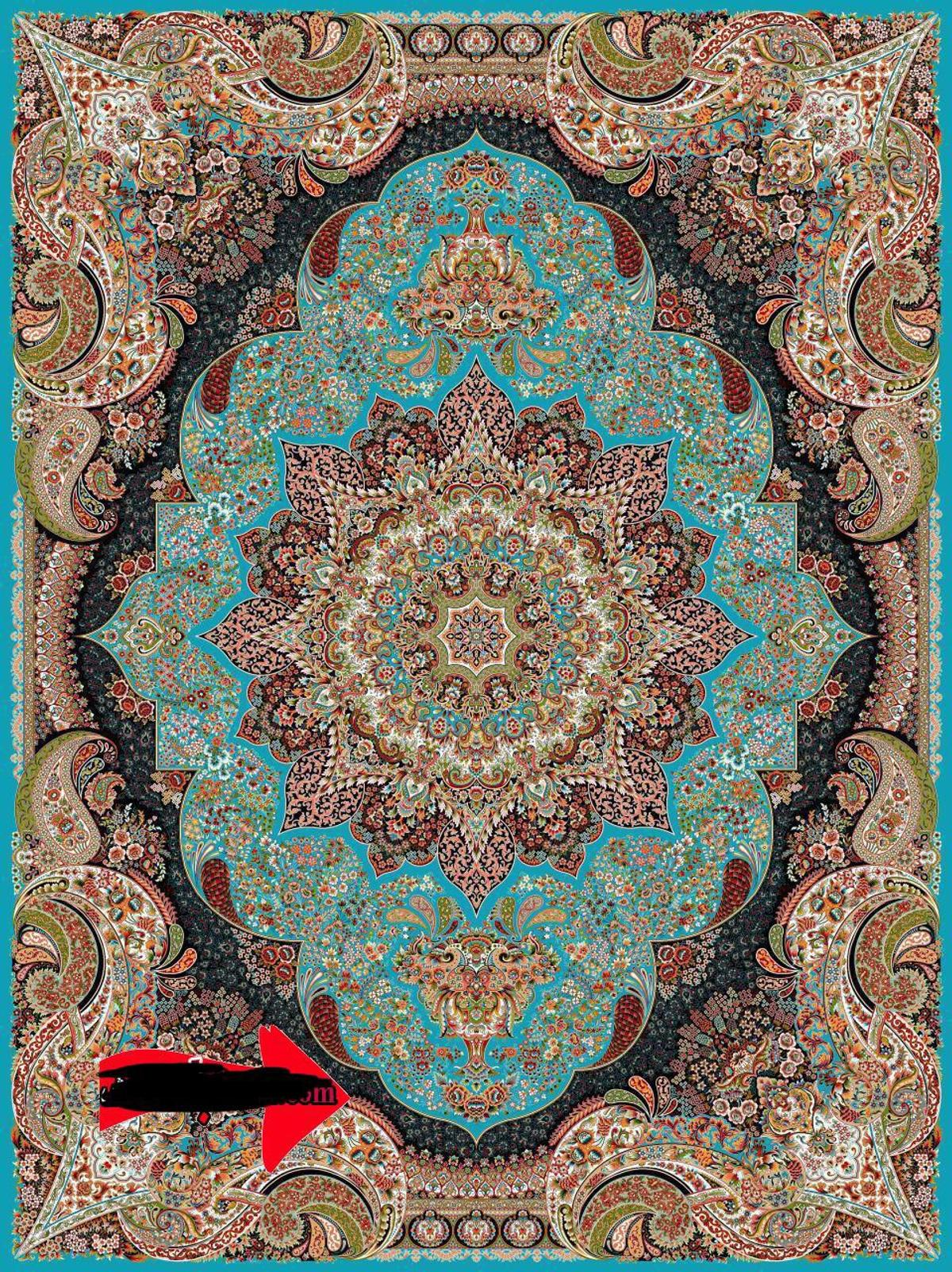 2 Identical Persian Rugs In W14 Fulham