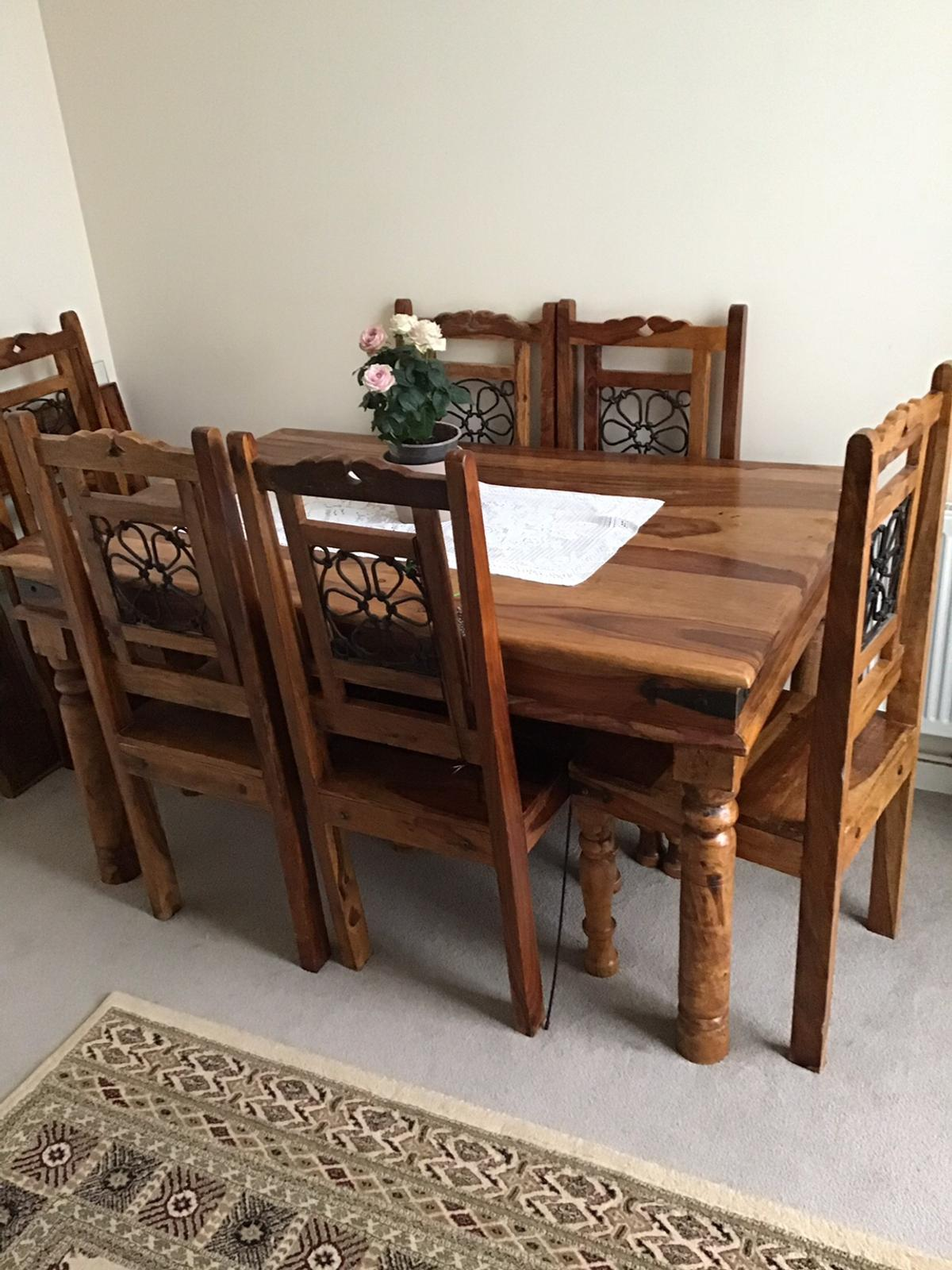 Stupendous Expensive Jali Dining Table 6 Chairs Forskolin Free Trial Chair Design Images Forskolin Free Trialorg