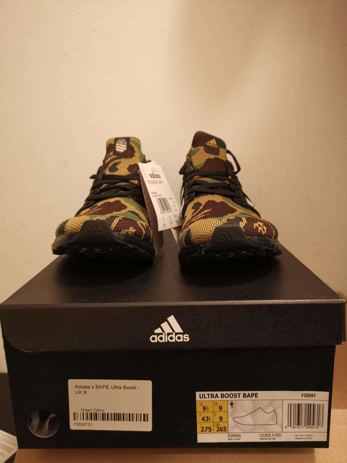 Adidas Ultra Boost 4.0 BAPE Camo 43 13 in 1070 Wien for