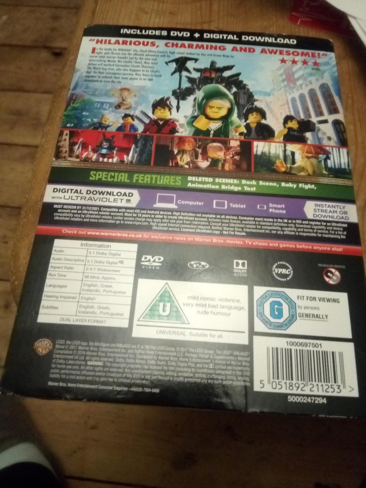 The Lego Ninjago Movie,new in RG2 Wood for £3 00 for sale - Shpock